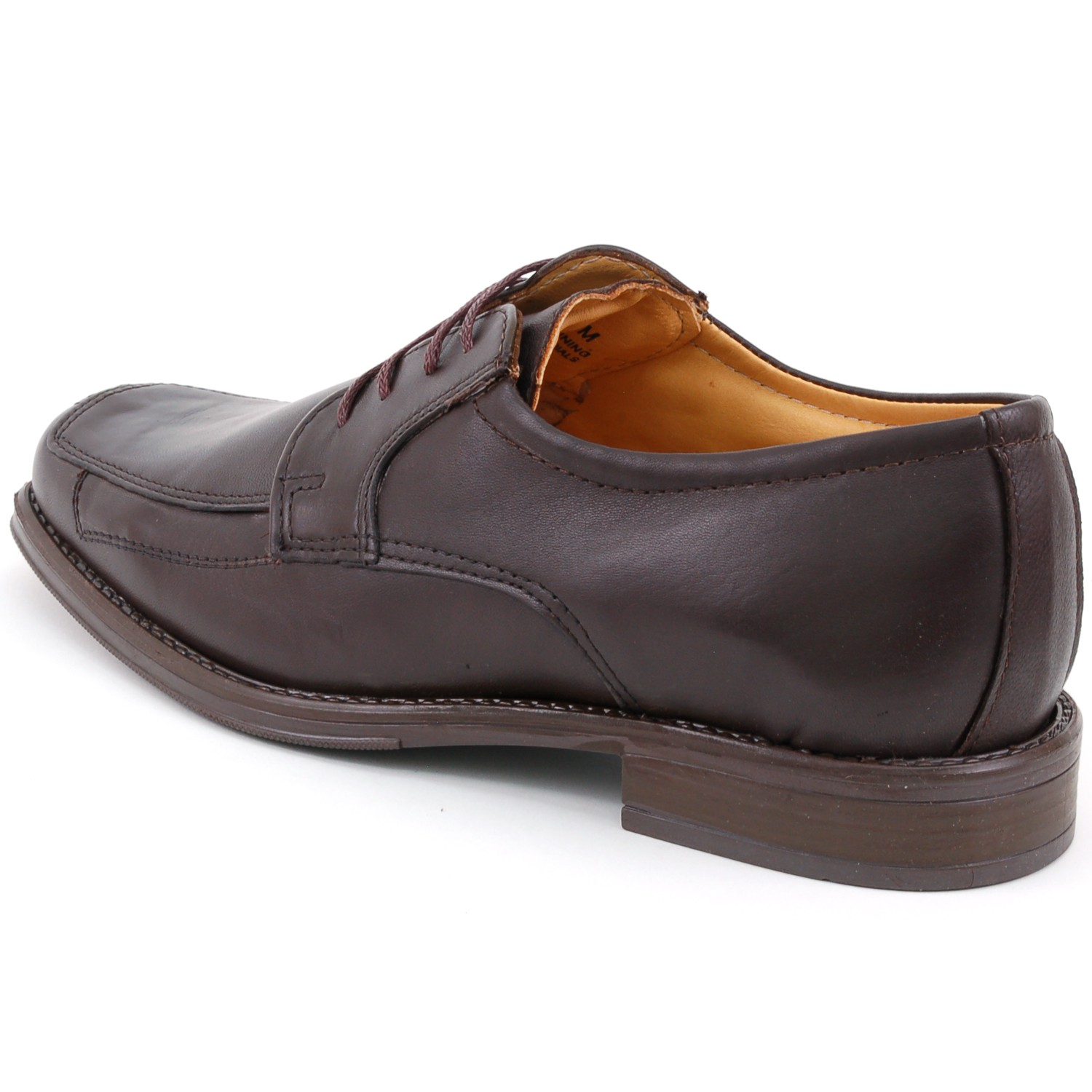 Mens-Lace-Up-Oxfords-Dress-Shoes-Genuine-Leather-Moc-Toe-Giorgio-Brutini-Padded thumbnail 15