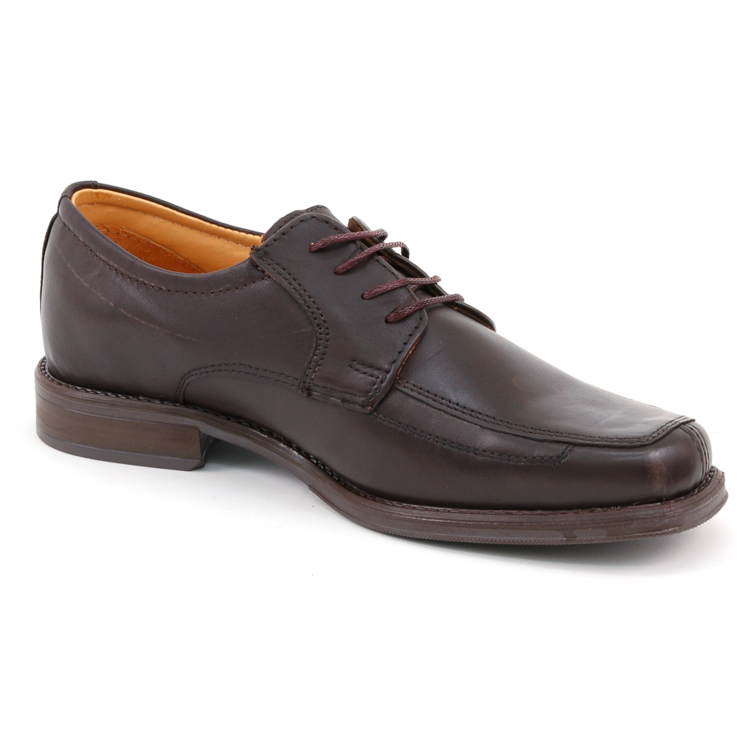 Mens-Lace-Up-Oxfords-Dress-Shoes-Genuine-Leather-Moc-Toe-Giorgio-Brutini-Padded thumbnail 17