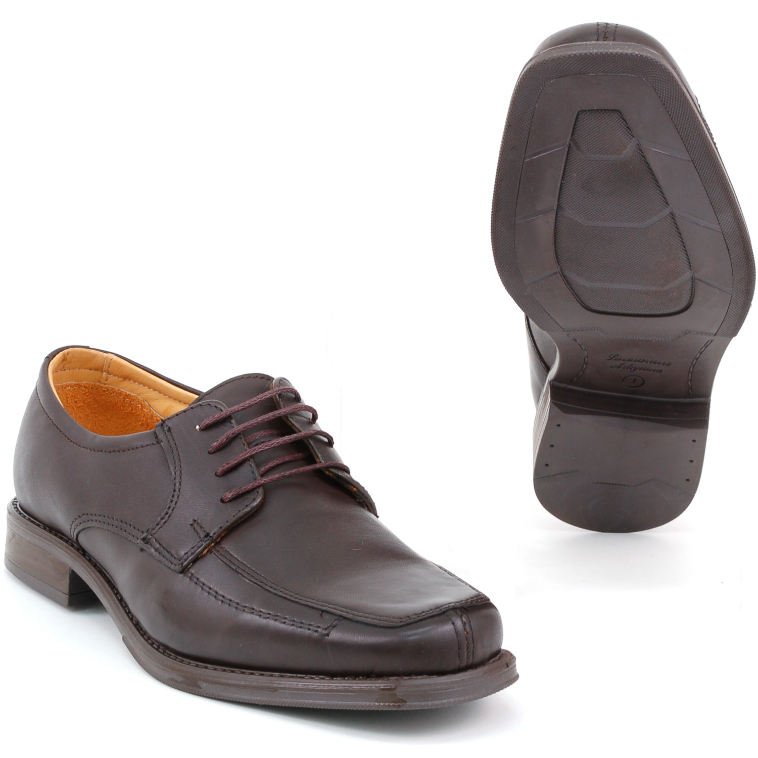 Mens-Lace-Up-Oxfords-Dress-Shoes-Genuine-Leather-Moc-Toe-Giorgio-Brutini-Padded thumbnail 19