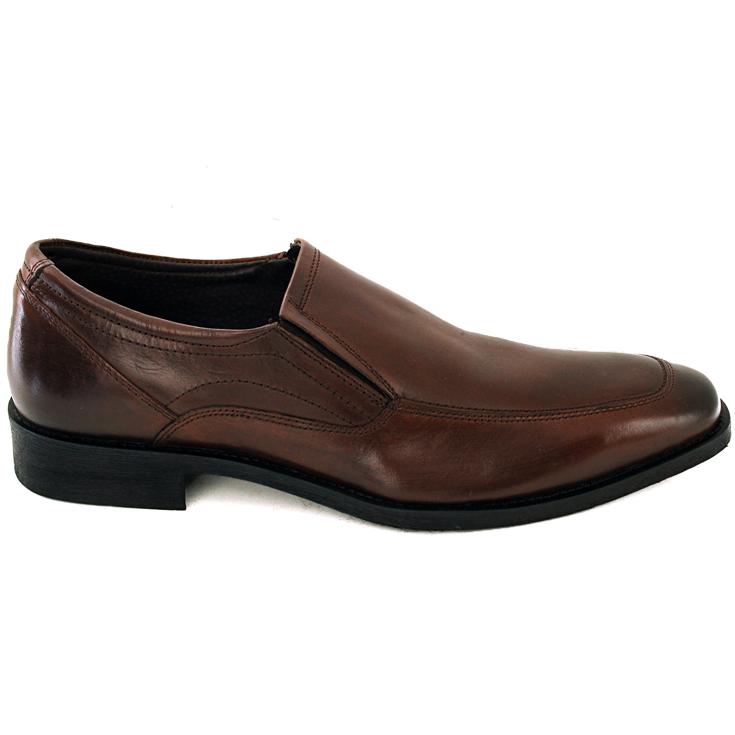 Men's Dress Shoes Leather Slip on Dressy Casual Comfort ...