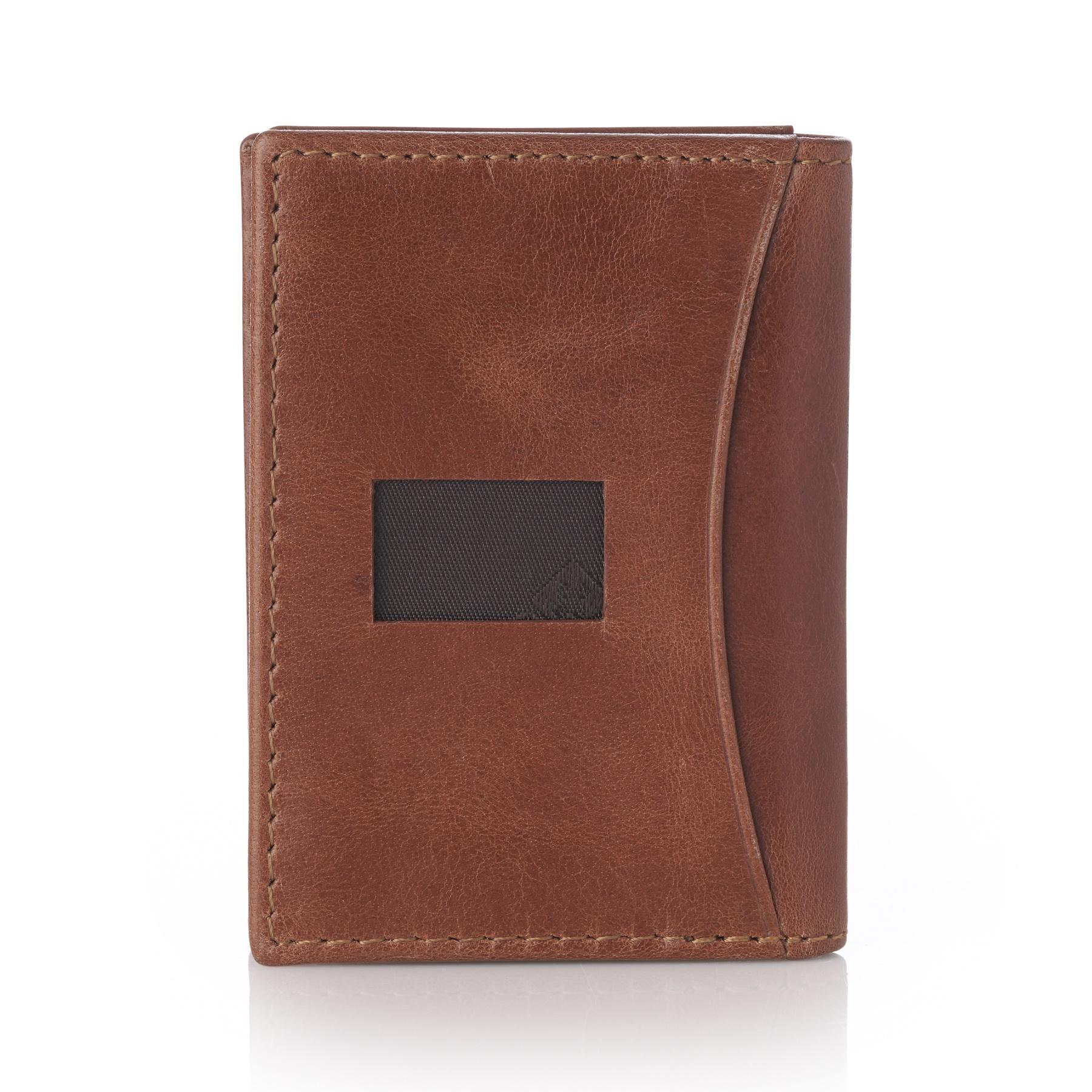 Alpine-Swiss-RFID-Leather-Business-Card-Wallet-Minimalist-ID-Window-Card-Holder thumbnail 23