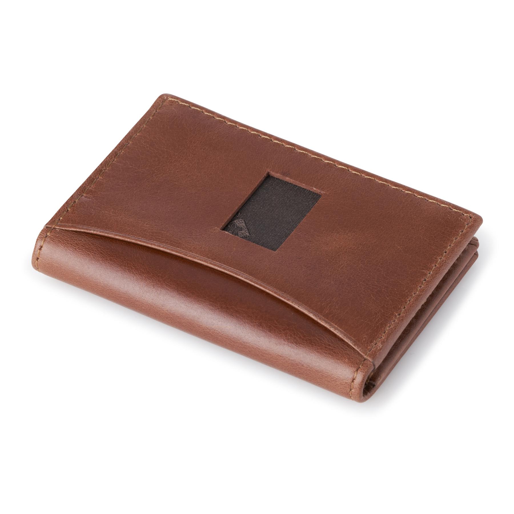 Alpine-Swiss-RFID-Leather-Business-Card-Wallet-Minimalist-ID-Window-Card-Holder thumbnail 28