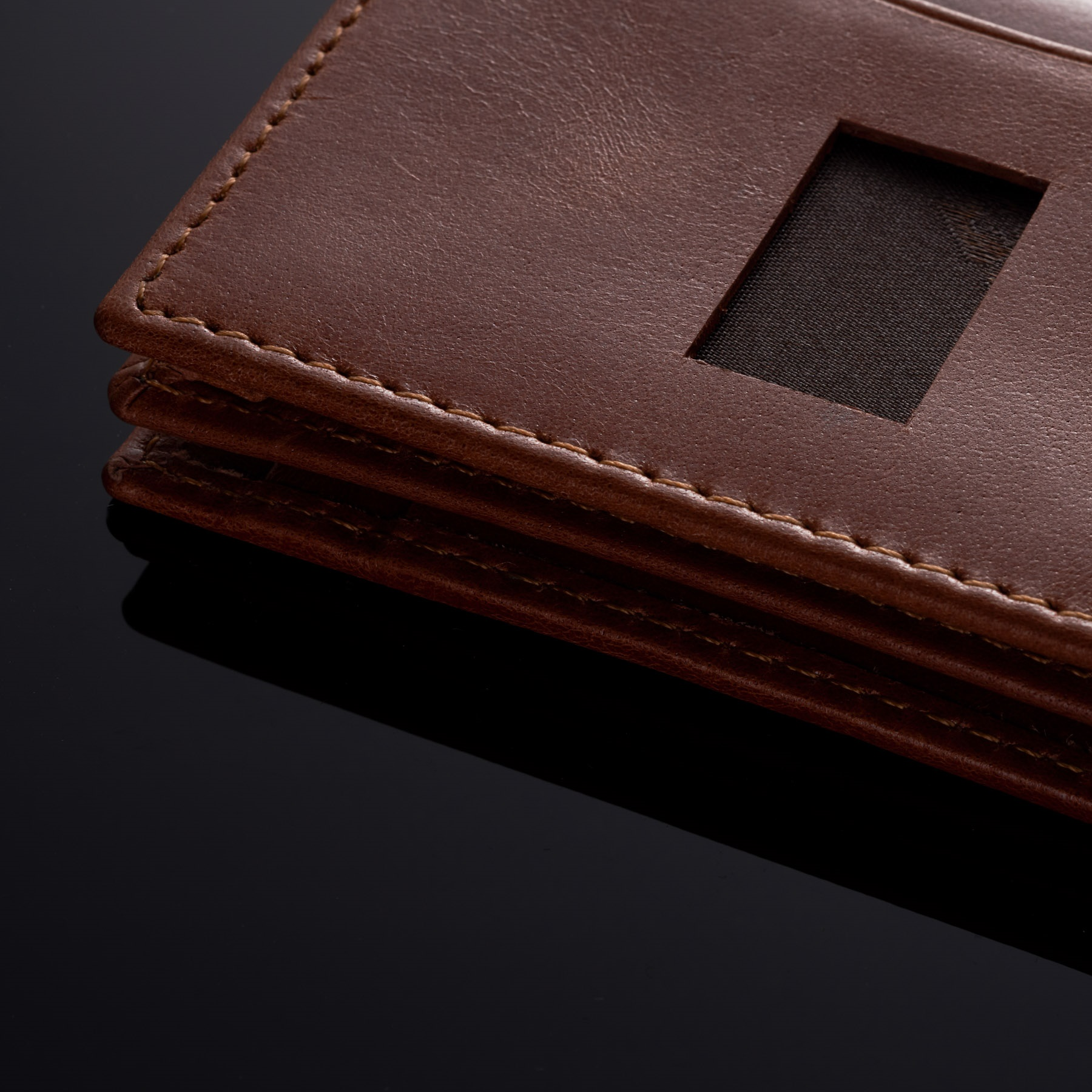 Alpine-Swiss-RFID-Leather-Business-Card-Wallet-Minimalist-ID-Window-Card-Holder thumbnail 26