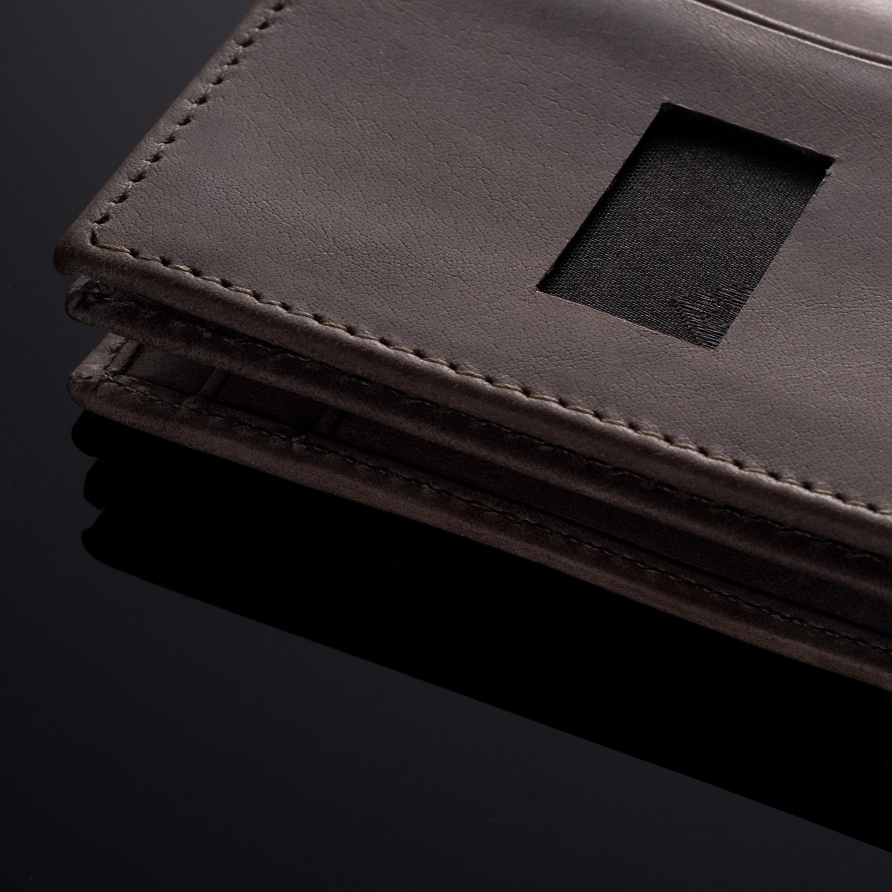 Alpine-Swiss-RFID-Leather-Business-Card-Wallet-Minimalist-ID-Window-Card-Holder thumbnail 44