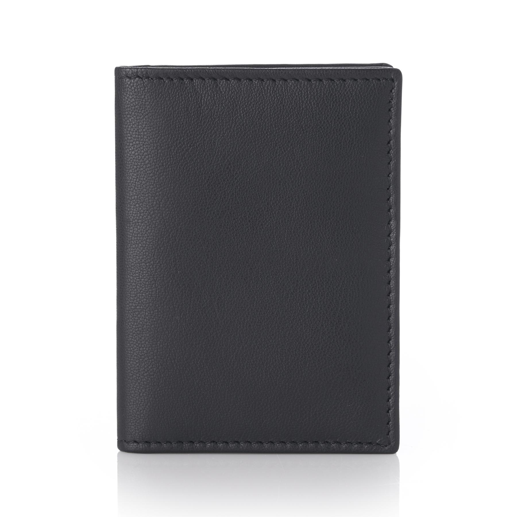 Alpine-Swiss-RFID-Leather-Business-Card-Wallet-Minimalist-ID-Window-Card-Holder thumbnail 13