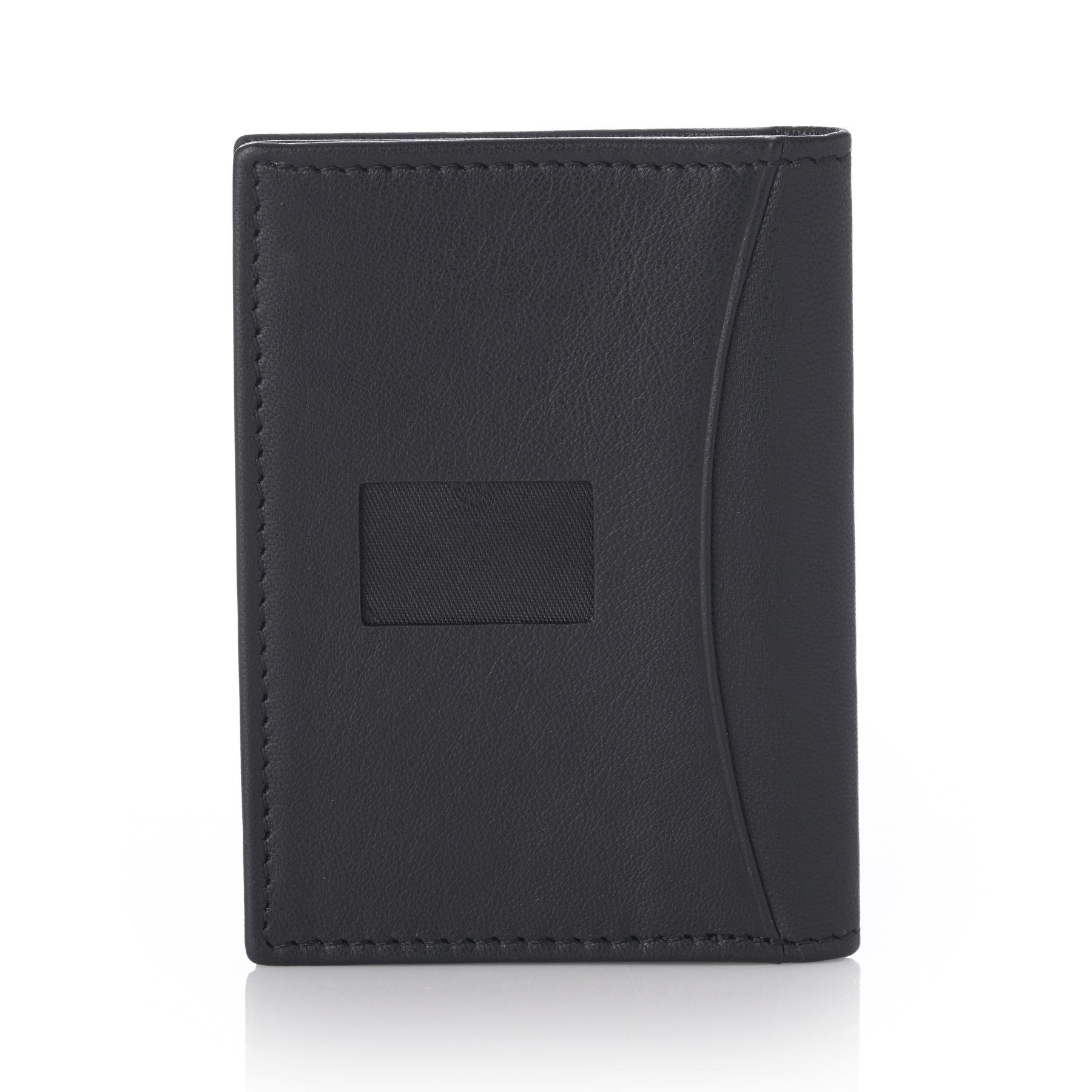 Alpine-Swiss-RFID-Leather-Business-Card-Wallet-Minimalist-ID-Window-Card-Holder thumbnail 14