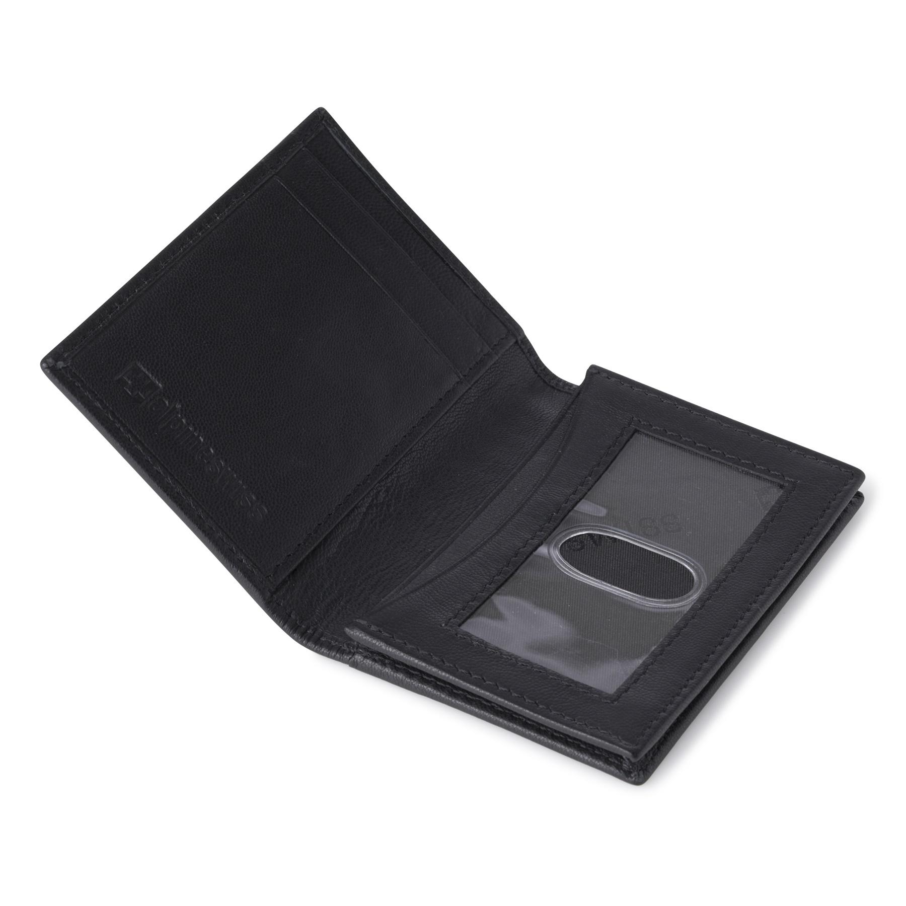 Alpine-Swiss-RFID-Leather-Business-Card-Wallet-Minimalist-ID-Window-Card-Holder thumbnail 15