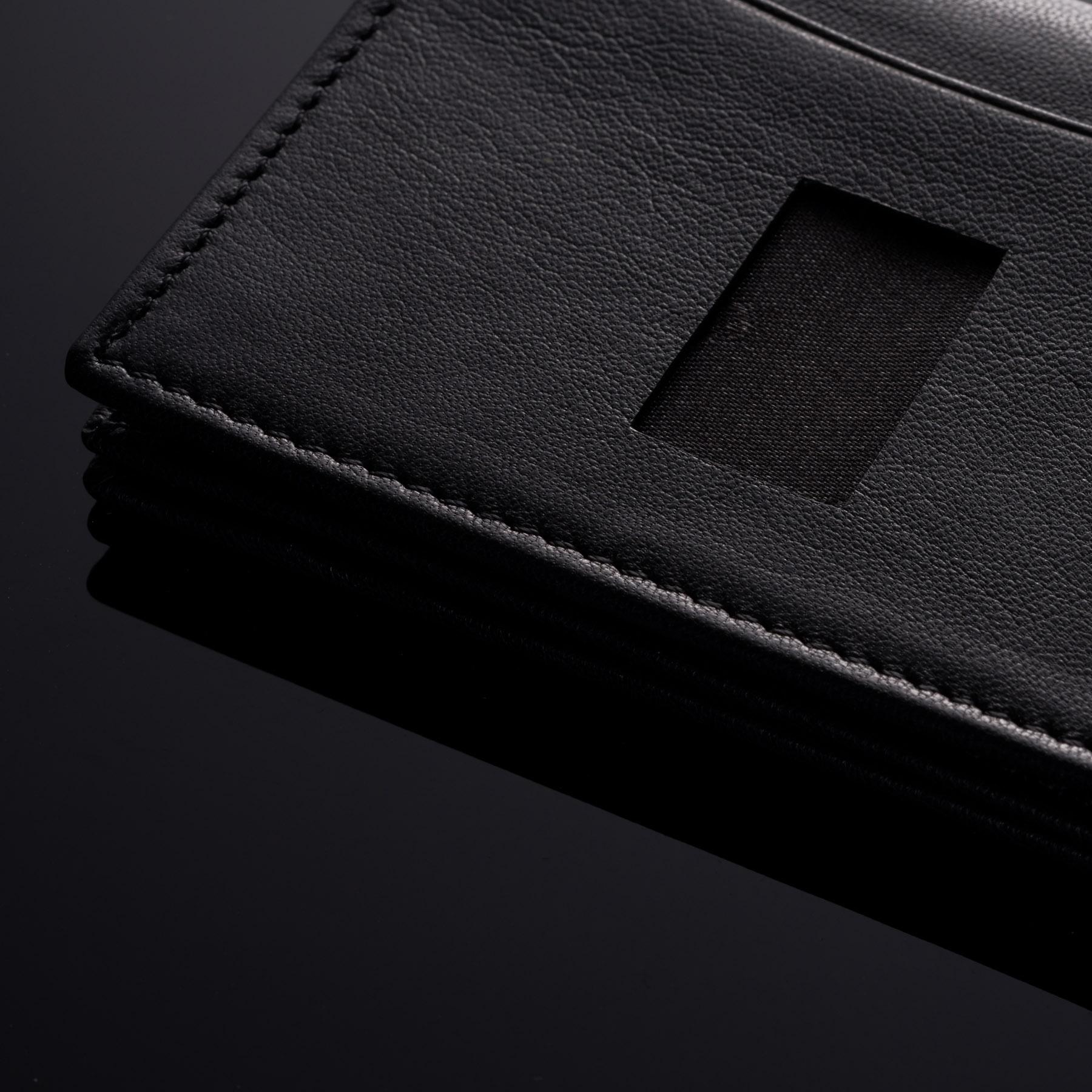Alpine-Swiss-RFID-Leather-Business-Card-Wallet-Minimalist-ID-Window-Card-Holder thumbnail 17