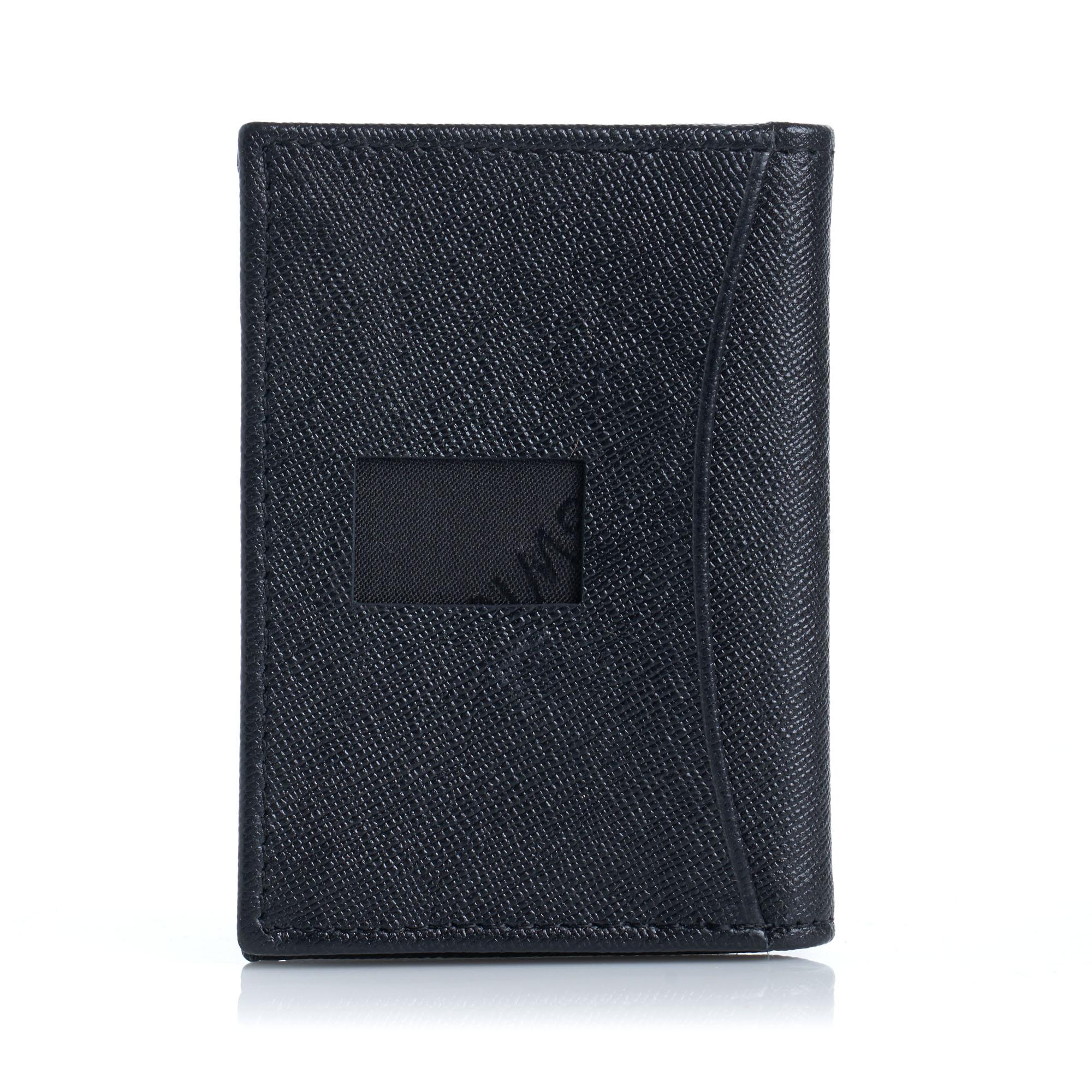 Alpine-Swiss-RFID-Leather-Business-Card-Wallet-Minimalist-ID-Window-Card-Holder thumbnail 32