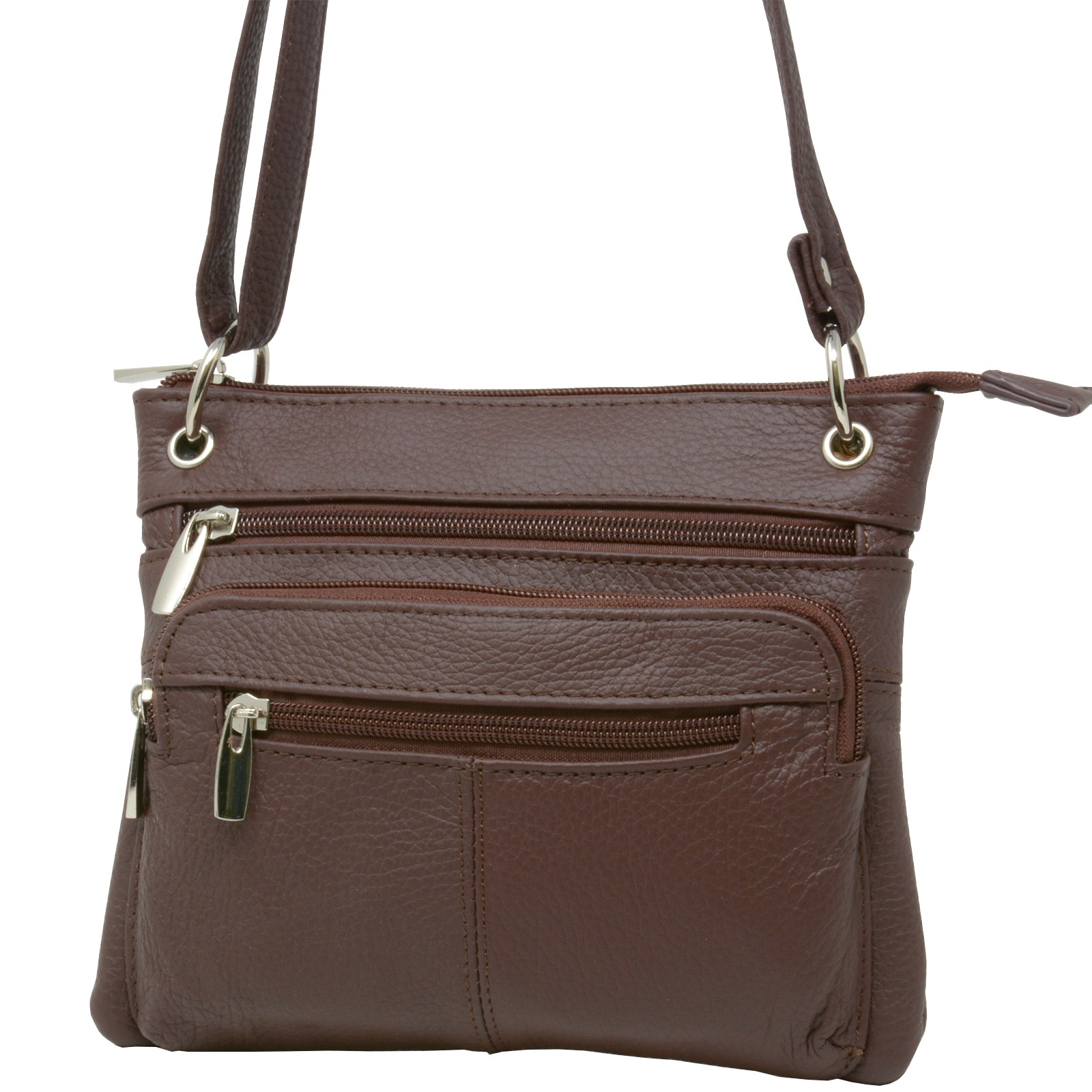 Women s Leather Purse Cross Body Shoulder Bag Handbag Organizer  4caefbf44312d
