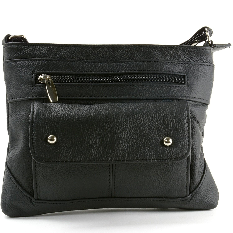 b42513e585 Women s Genuine Leather Handbag Cross Body Bag Shoulder Bag Organizer Mini  Purse