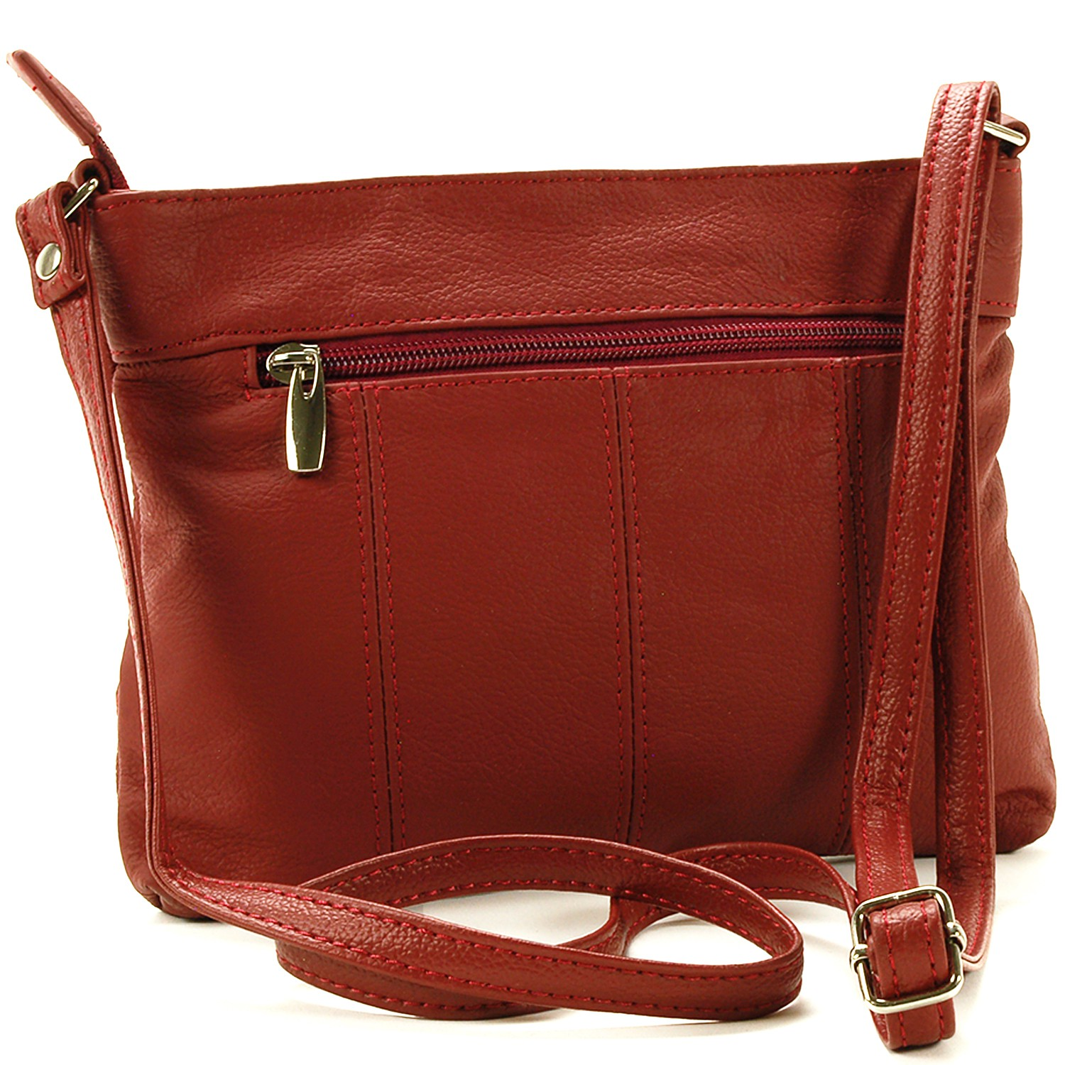 Women's Genuine Leather Handbag Cross Body Bag Shoulder ...