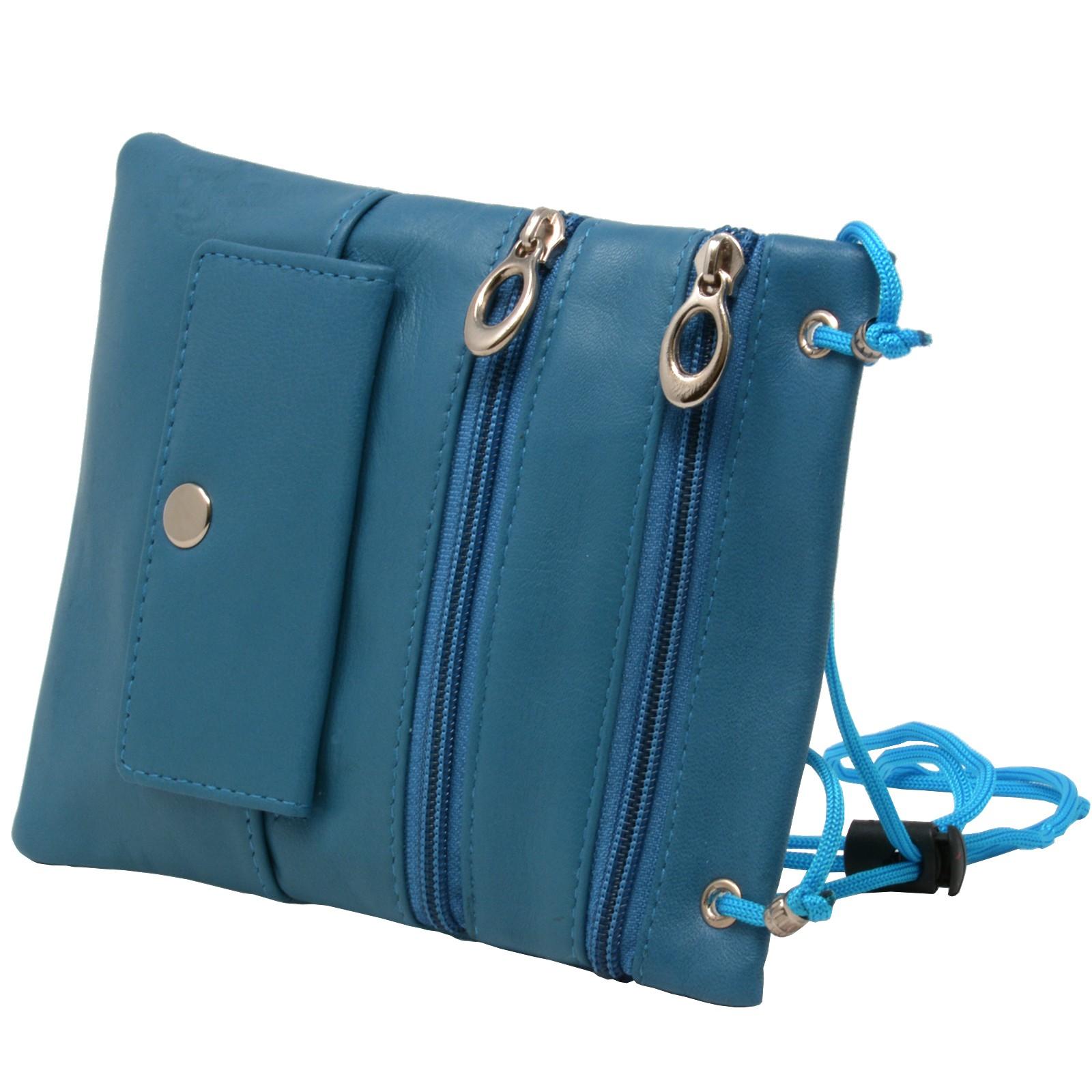 Soft-Leather-Purse-Organizer-Shoulder-Bag-4-Pocket-Micro-Handbag-Travel-Wallet thumbnail 24