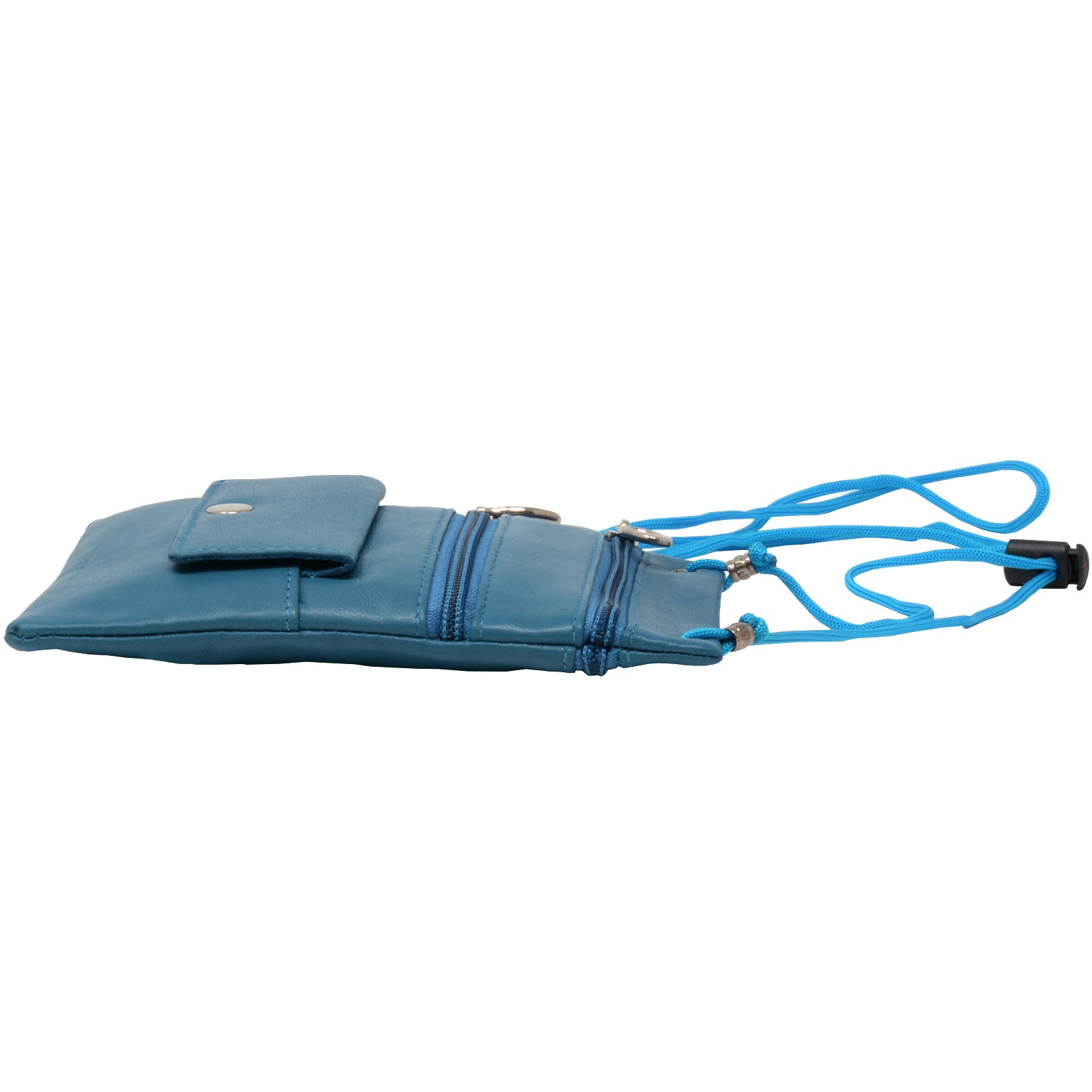 Soft-Leather-Purse-Organizer-Shoulder-Bag-4-Pocket-Micro-Handbag-Travel-Wallet thumbnail 25