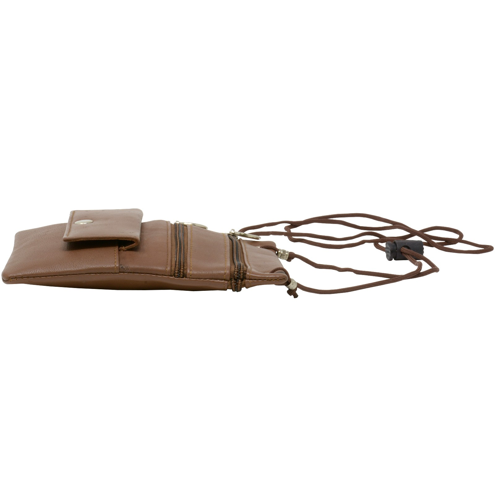 Soft-Leather-Purse-Organizer-Shoulder-Bag-4-Pocket-Micro-Handbag-Travel-Wallet thumbnail 21