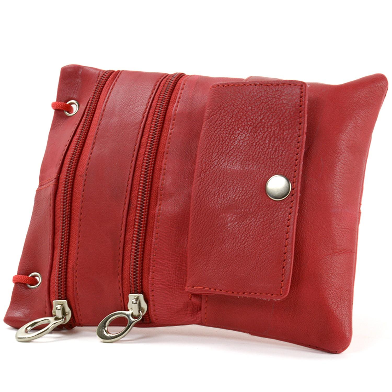 Soft-Leather-Purse-Organizer-Shoulder-Bag-4-Pocket-Micro-Handbag-Travel-Wallet thumbnail 38