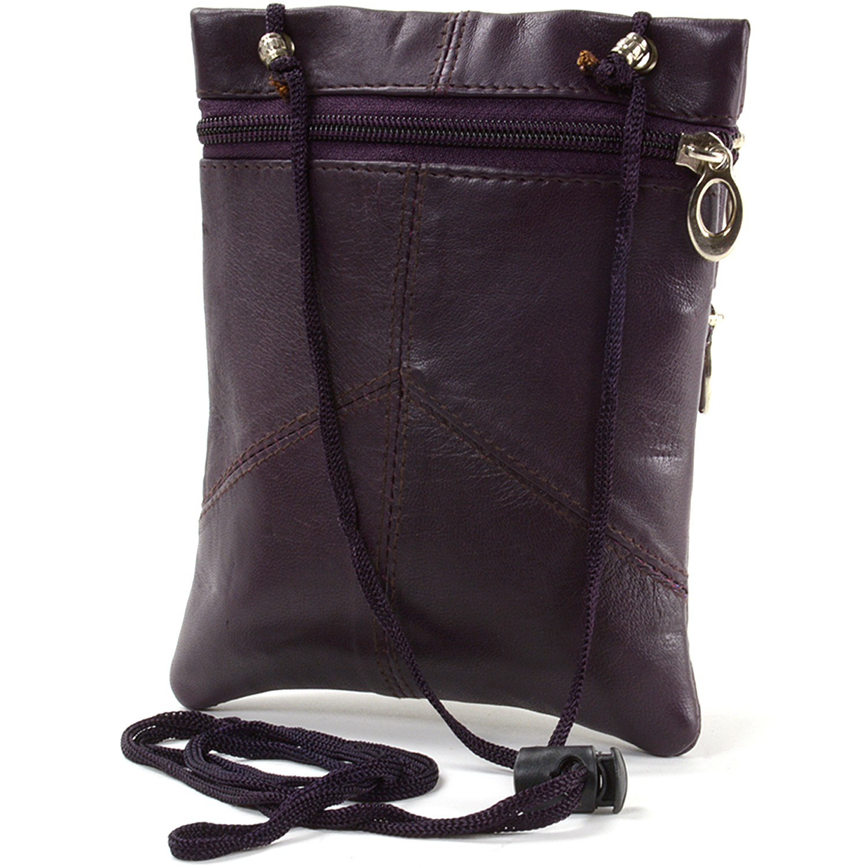 Soft-Leather-Purse-Organizer-Shoulder-Bag-4-Pocket-Micro-Handbag-Travel-Wallet thumbnail 28