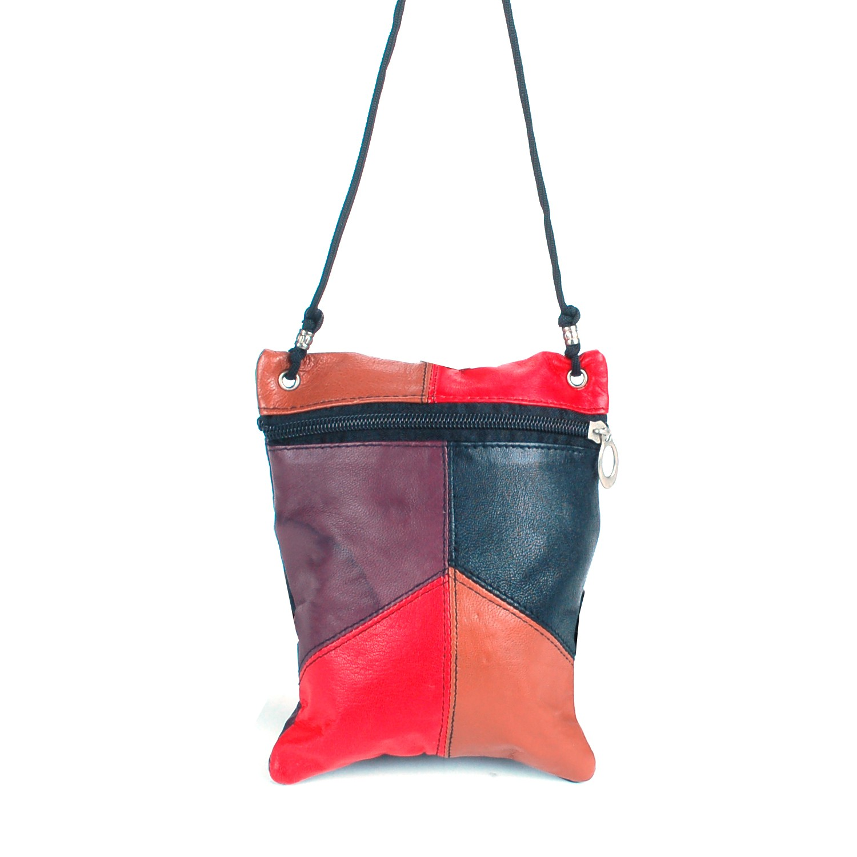 Soft-Leather-Purse-Organizer-Shoulder-Bag-4-Pocket-Micro-Handbag-Travel-Wallet thumbnail 32