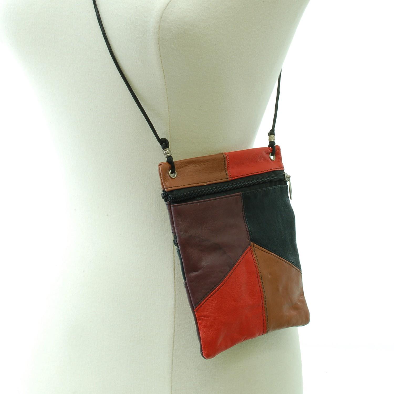 Soft-Leather-Purse-Organizer-Shoulder-Bag-4-Pocket-Micro-Handbag-Travel-Wallet thumbnail 34