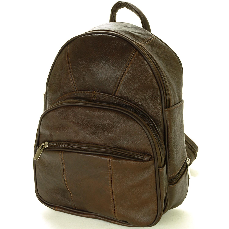 New Leather Backpack Purse Sling Bag Back Pack Shoulder ...
