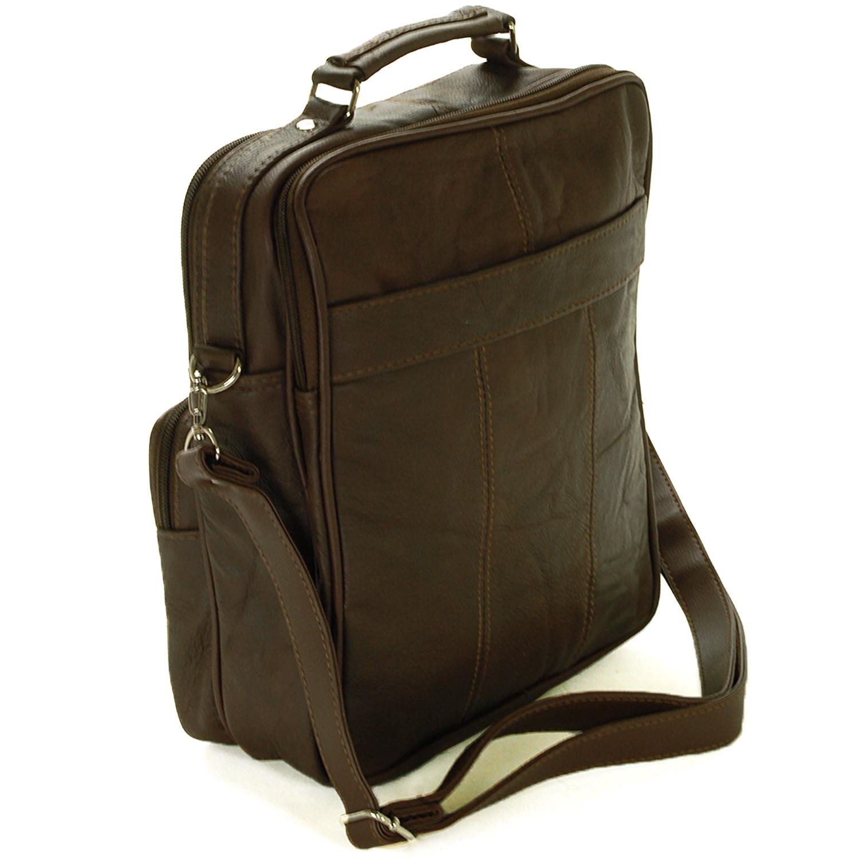 leather travel bag multipurpose organizer handbag. Black Bedroom Furniture Sets. Home Design Ideas