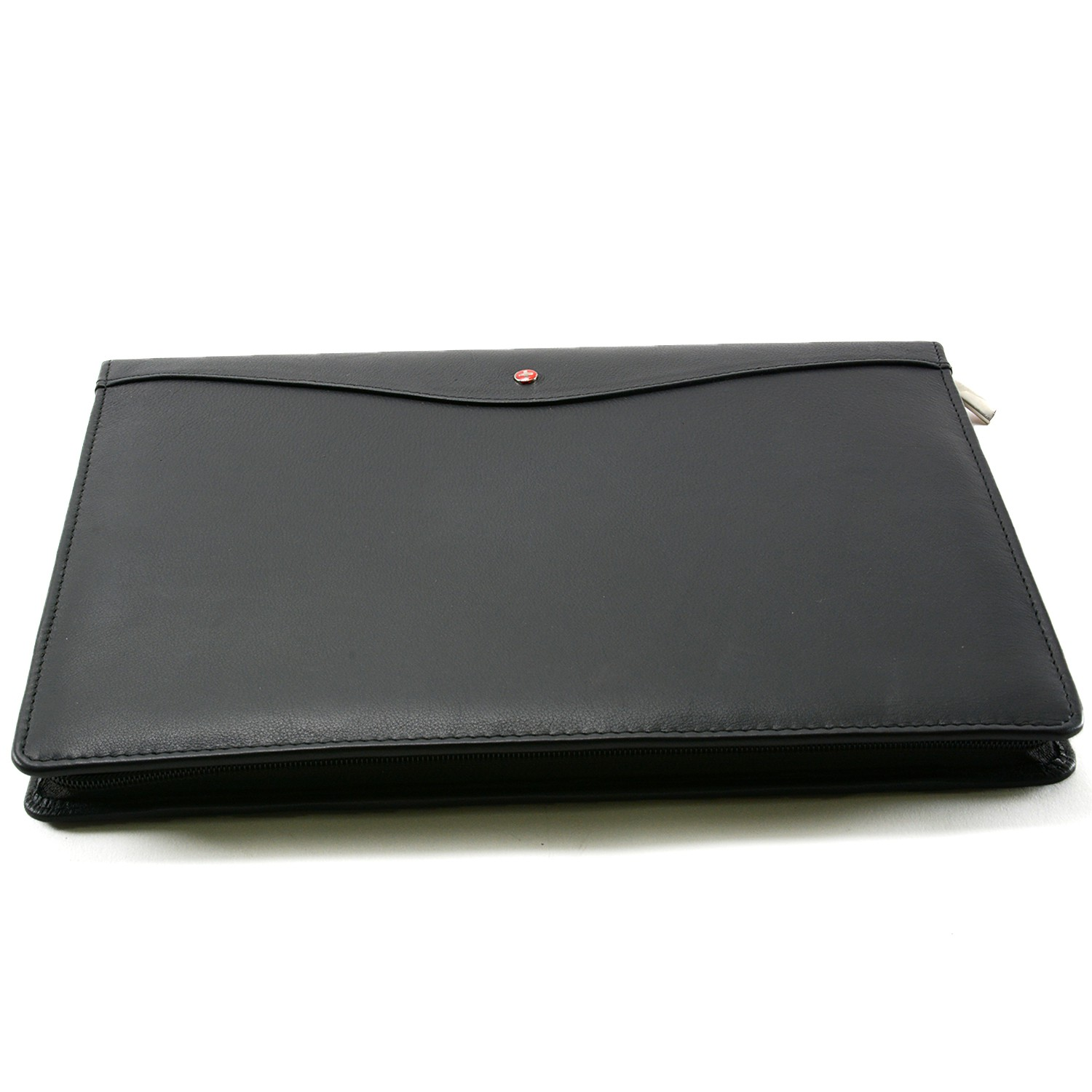 Alpine Swiss Leather Portfolio Writing Pad Presentation Folder