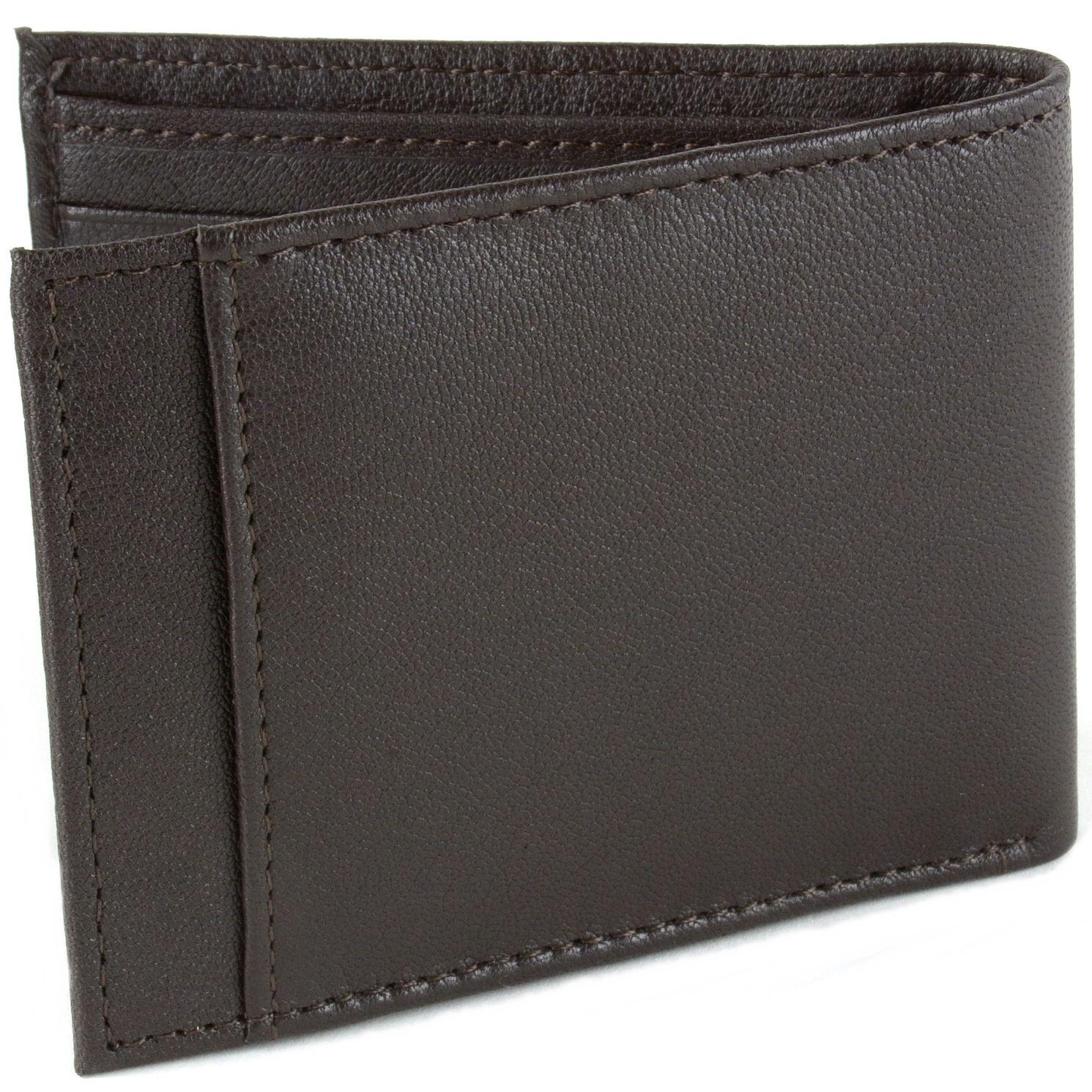 414b99e3745 Men s Leather Front Pocket Wallet Rfid