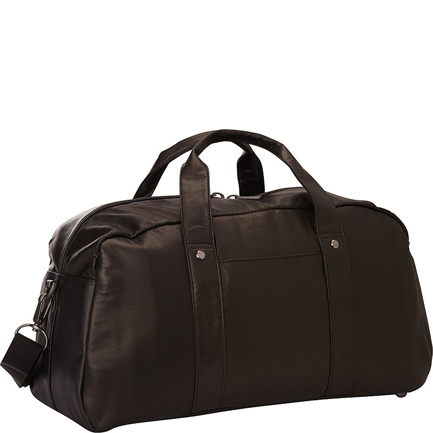 Kenneth Cole Genuine Leather Duffle Bag Travel Overnight ...