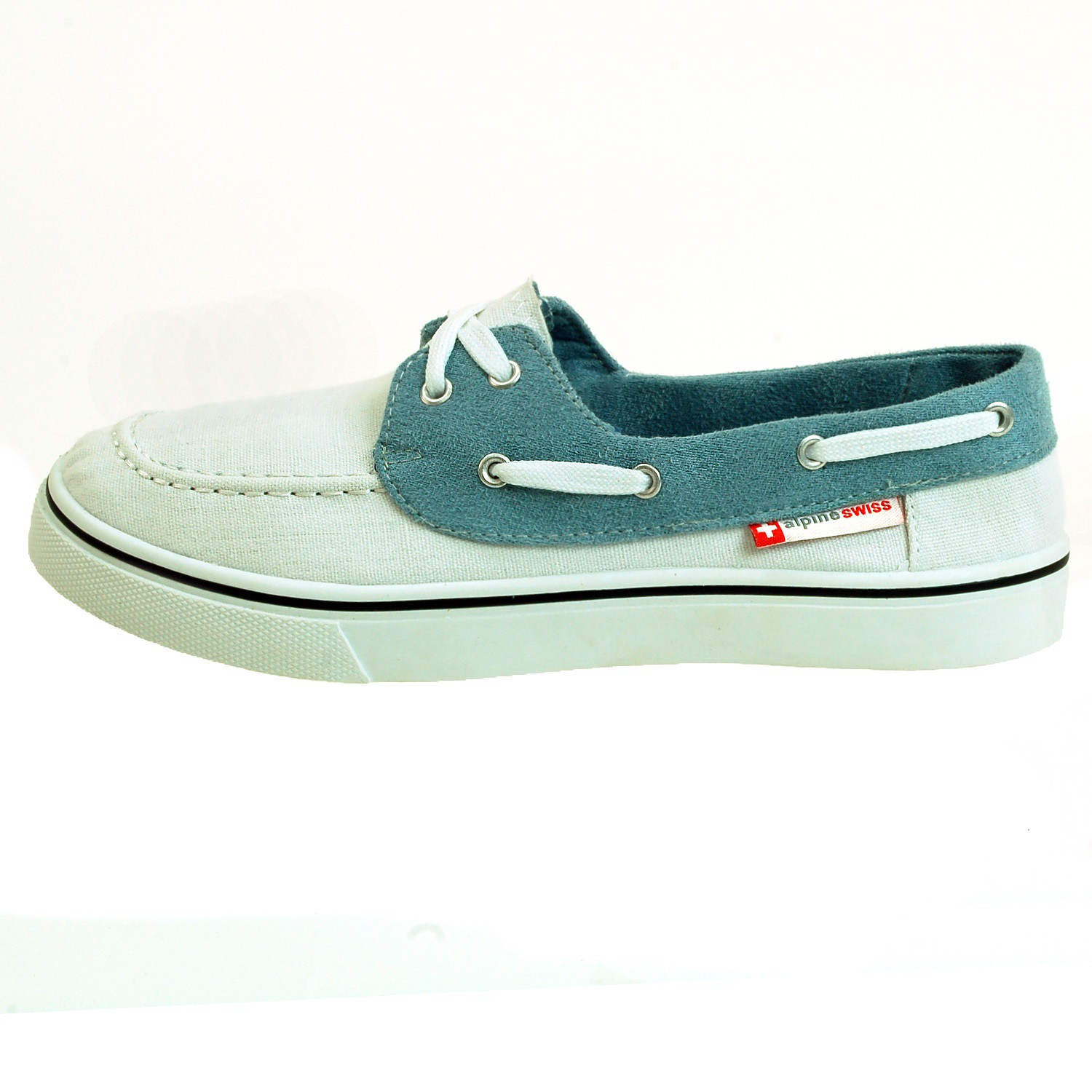 AlpineSwiss Antigua Mens Boat Shoes Lace Up Loafer Deck ...