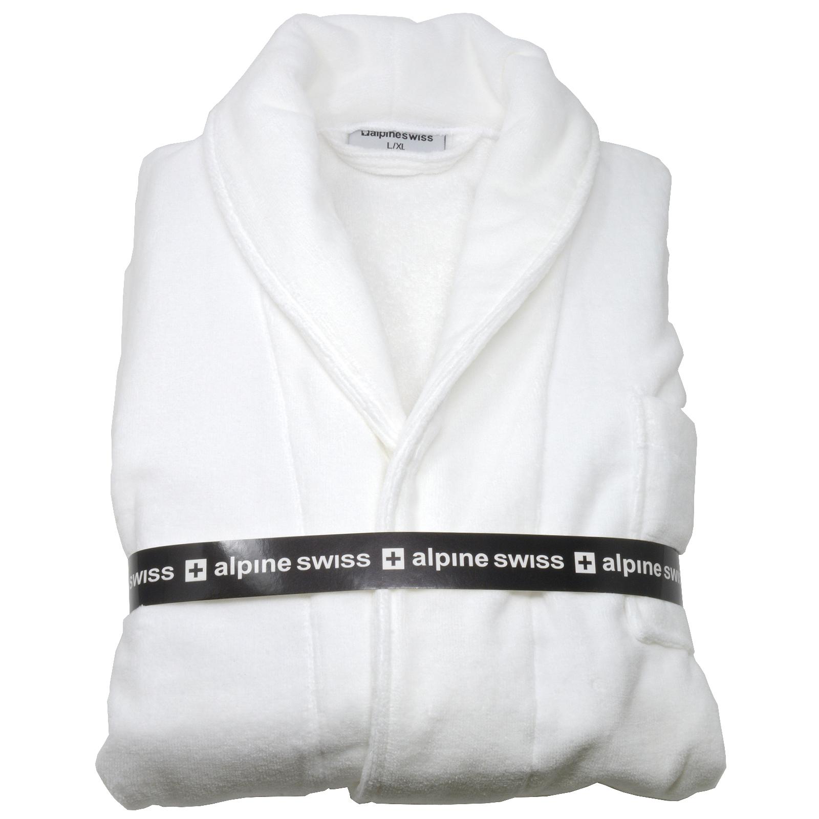 terry cloth bathrobe. Alpine-Swiss-Aiden-Mens-Cotton-Terry-Cloth-Bathrobe- Terry Cloth Bathrobe E