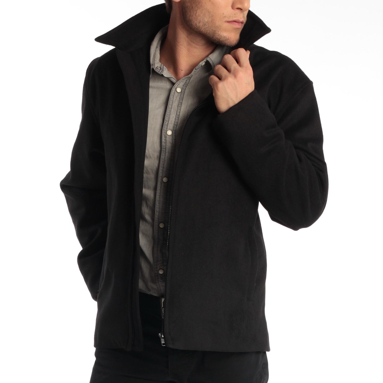 Alpine-Swiss-Grant-Mens-28-034-Open-Bottom-Jacket-Wool-Blend-JD-Bomber-Coat-Zipered thumbnail 19