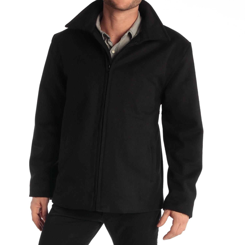 Alpine-Swiss-Grant-Mens-28-034-Open-Bottom-Jacket-Wool-Blend-JD-Bomber-Coat-Zipered thumbnail 13