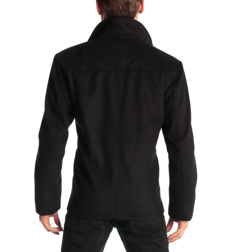 Alpine-Swiss-Grant-Mens-28-034-Open-Bottom-Jacket-Wool-Blend-JD-Bomber-Coat-Zipered thumbnail 14