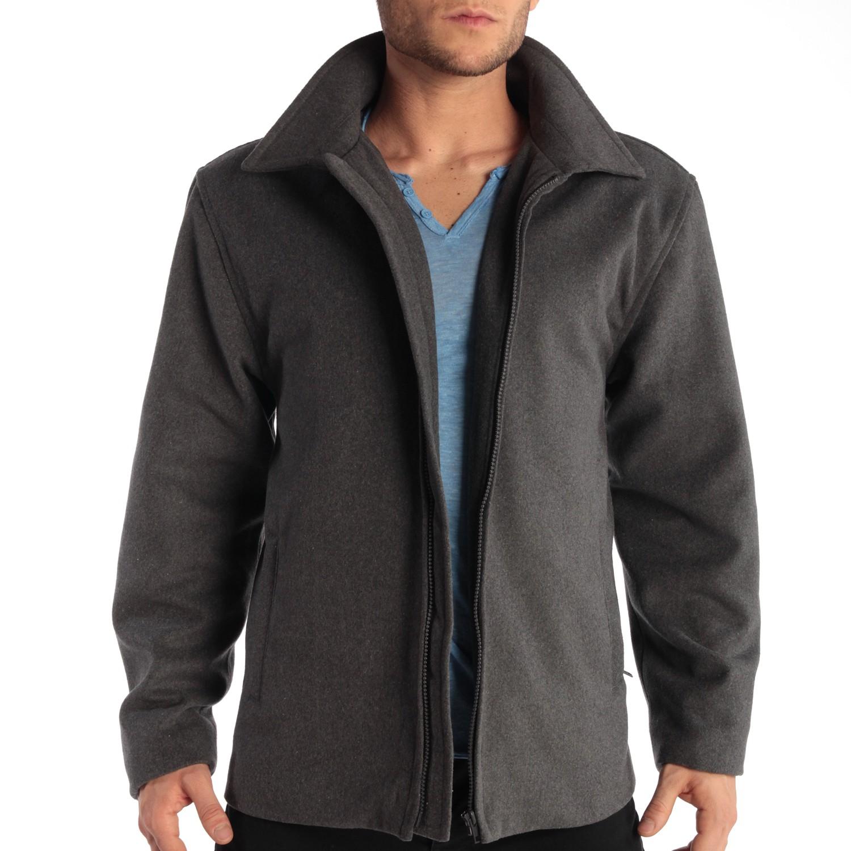 Alpine-Swiss-Grant-Mens-28-034-Open-Bottom-Jacket-Wool-Blend-JD-Bomber-Coat-Zipered thumbnail 22
