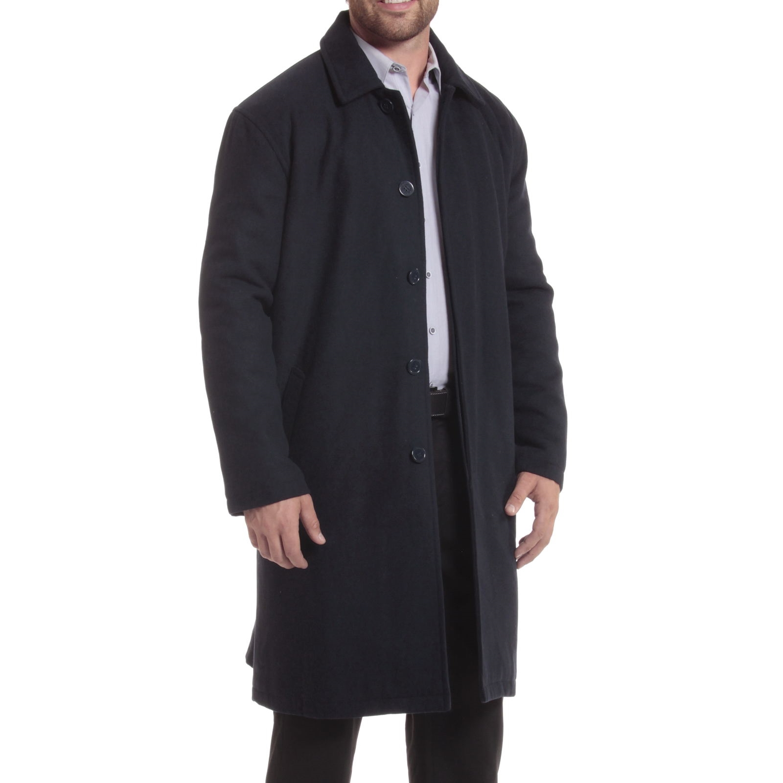 Alpine-Swiss-Mens-Zach-Knee-Length-Jacket-Top-Coat-Trench-Wool-Blend-Overcoat thumbnail 49