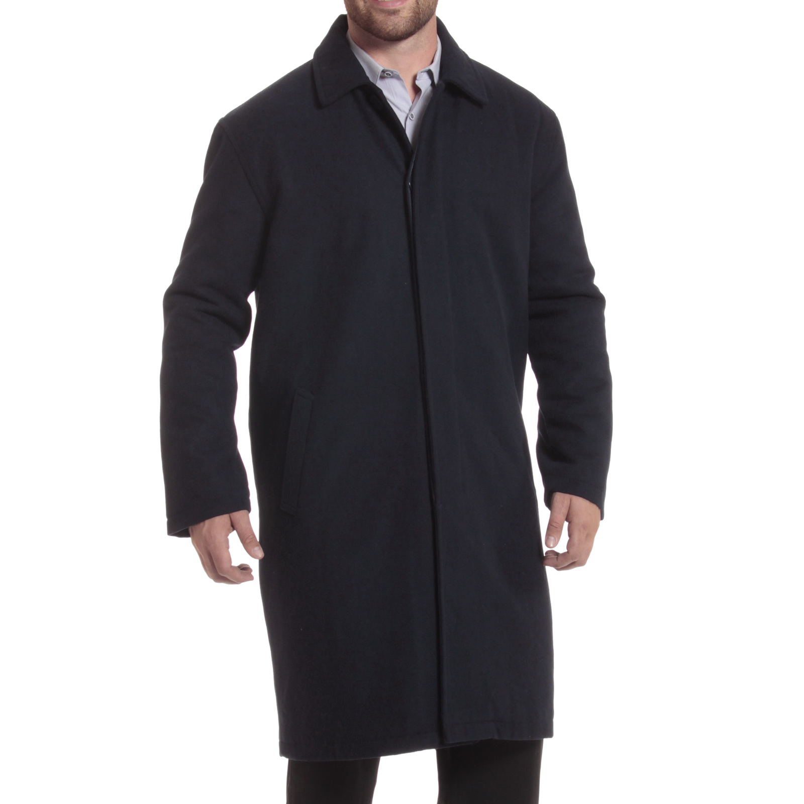 Alpine-Swiss-Mens-Zach-Knee-Length-Jacket-Top-Coat-Trench-Wool-Blend-Overcoat thumbnail 50