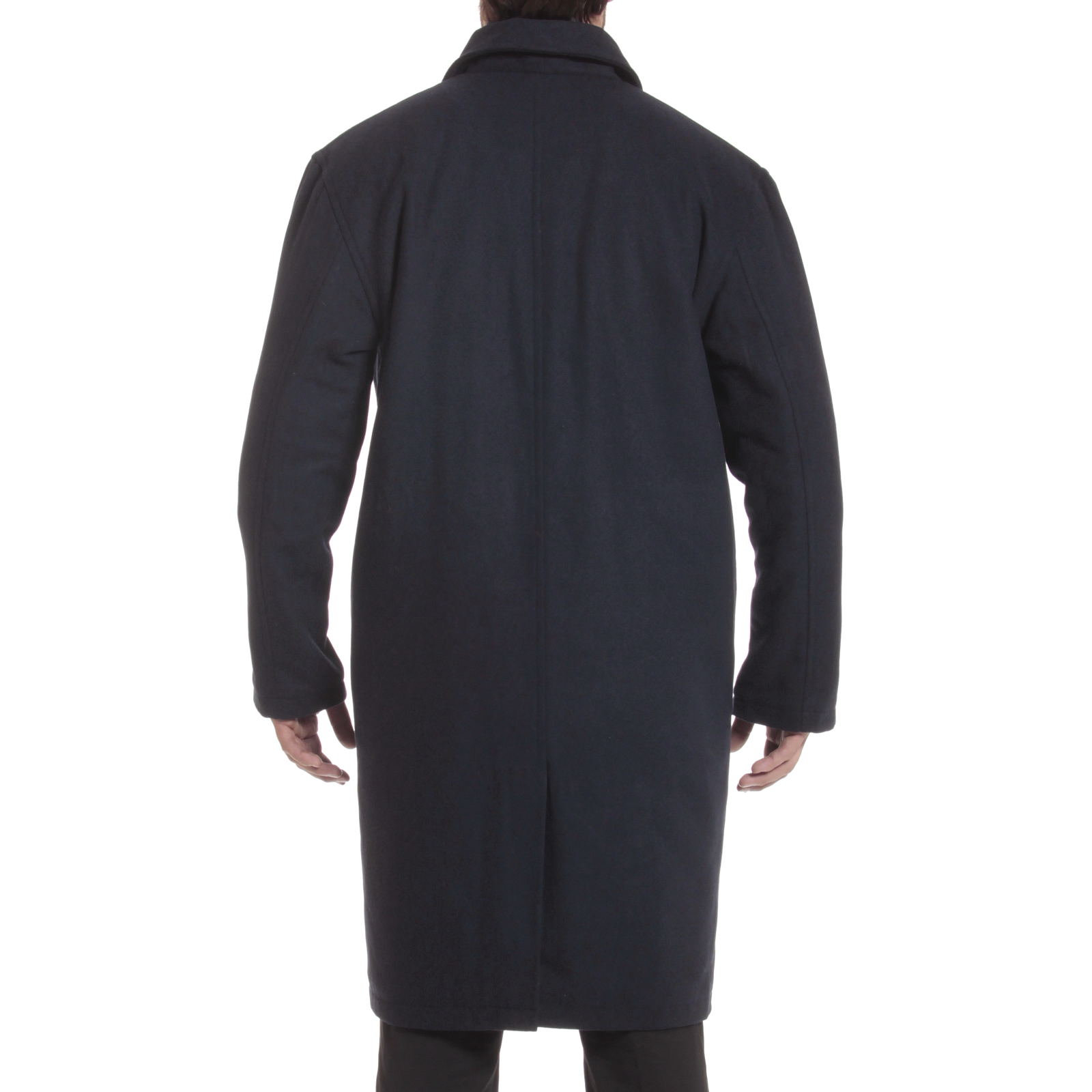 Alpine-Swiss-Mens-Zach-Knee-Length-Jacket-Top-Coat-Trench-Wool-Blend-Overcoat thumbnail 46