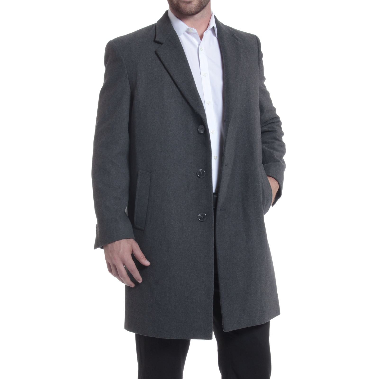 Alpine Swiss Luke Wool Mens Tailored 37 Walker Jacket Top Coat Car ...