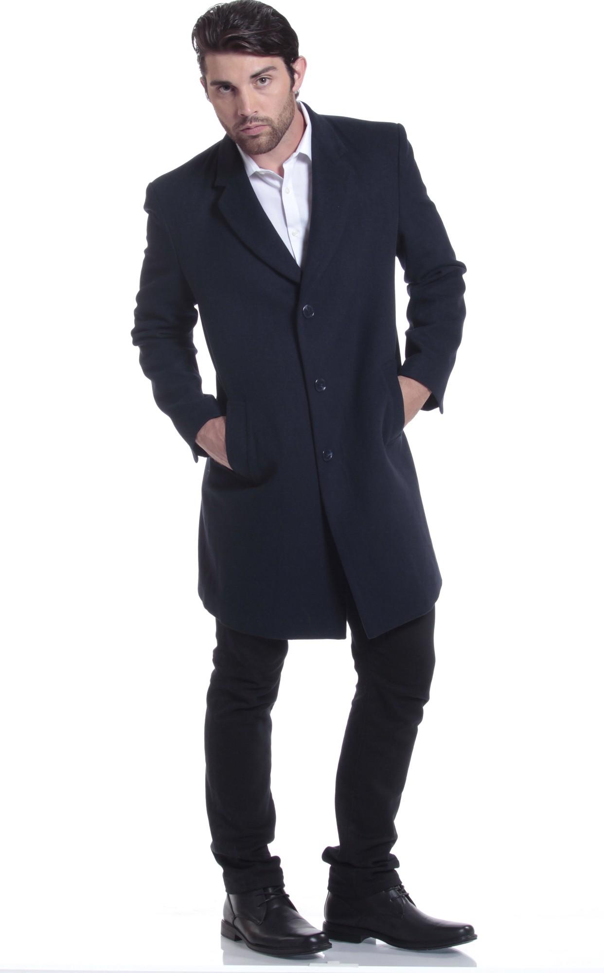 Male overcoat