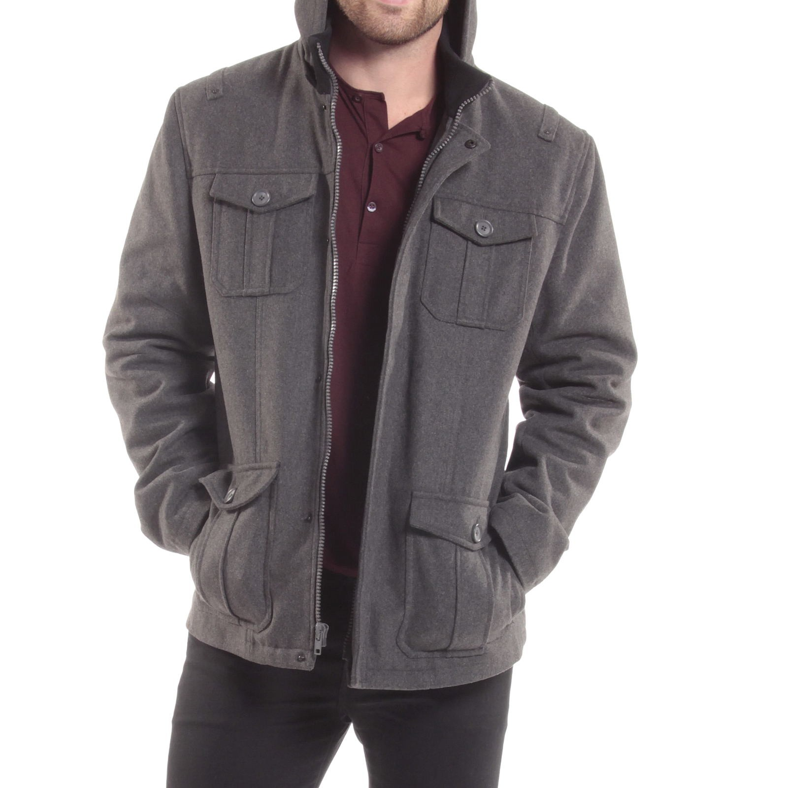 Free shipping on men's jackets & coats at tokosepatu.ga Shop bomber, trench, overcoat, and pea coats from Burberry, The North Face & more. Totally free shipping & returns.