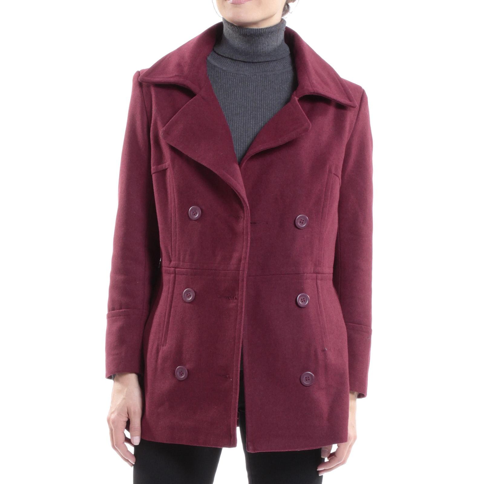 Alpine-Swiss-Emma-Womens-Peacoat-Jacket-Wool-Blazer-Double-Breasted-Overcoat-New thumbnail 32
