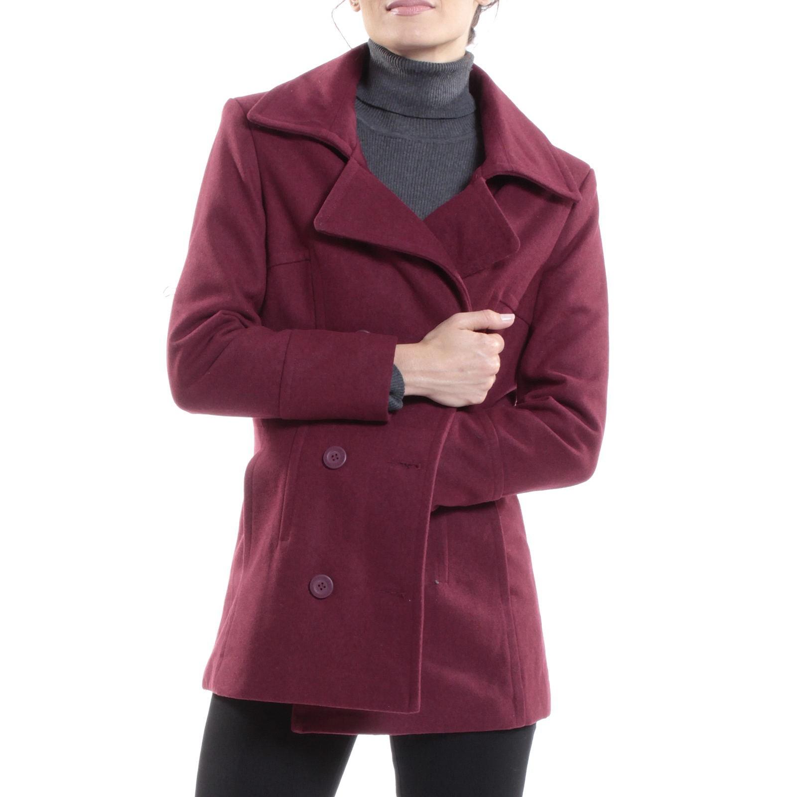 Alpine-Swiss-Emma-Womens-Peacoat-Jacket-Wool-Blazer-Double-Breasted-Overcoat-New thumbnail 33
