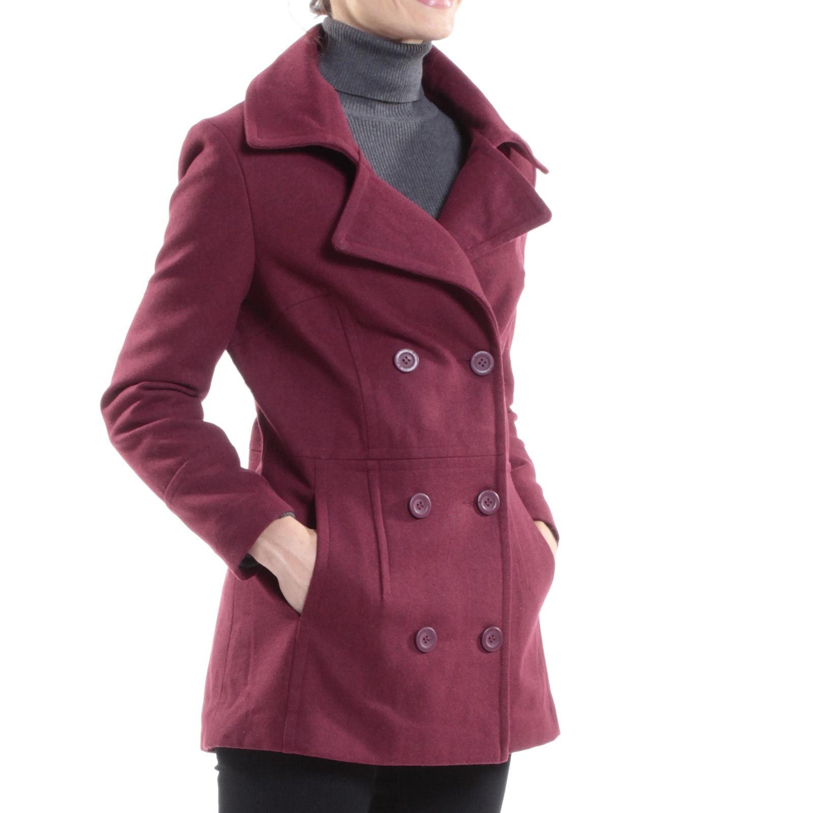 Alpine-Swiss-Emma-Womens-Peacoat-Jacket-Wool-Blazer-Double-Breasted-Overcoat-New thumbnail 29