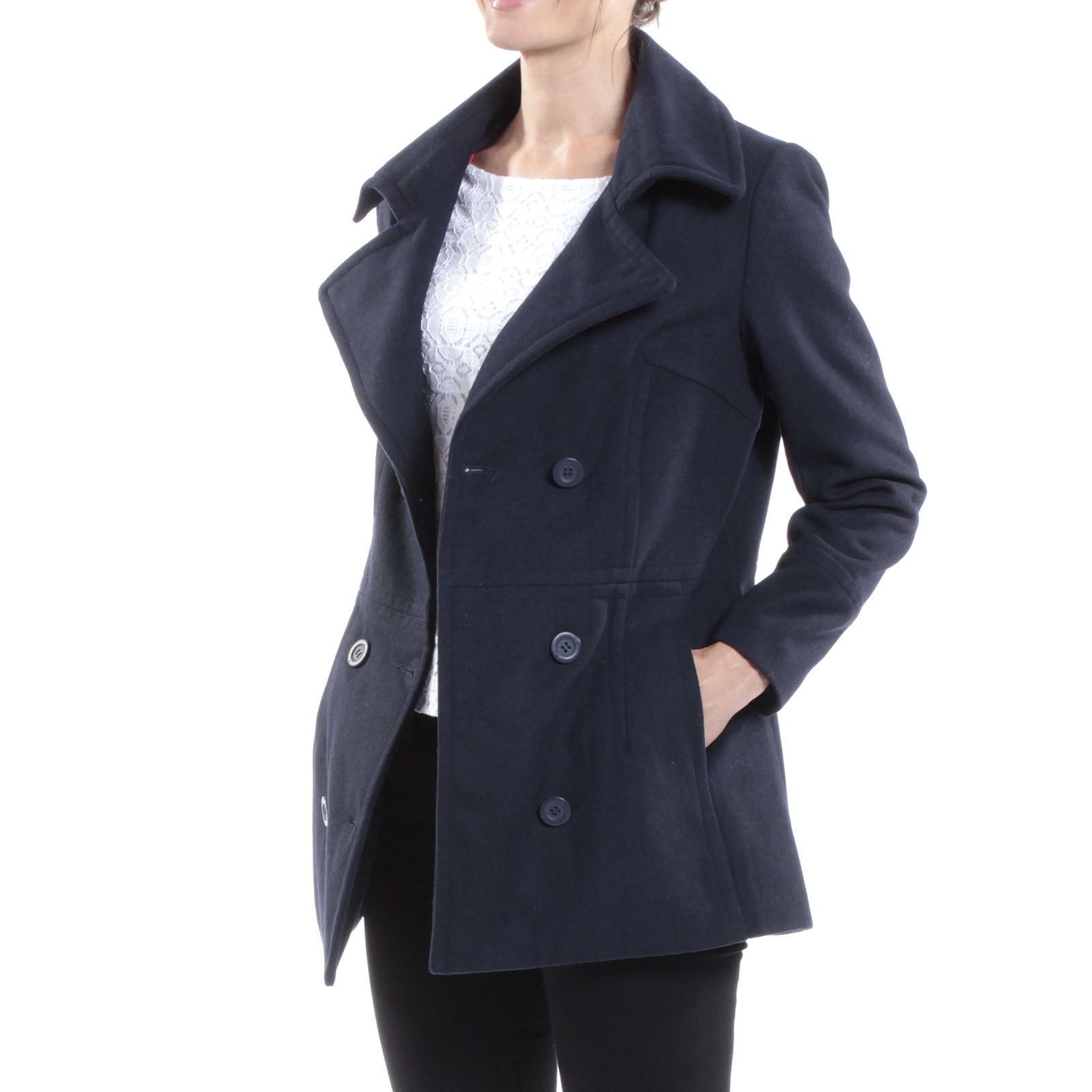 Alpine-Swiss-Emma-Womens-Peacoat-Jacket-Wool-Blazer-Double-Breasted-Overcoat-New thumbnail 55