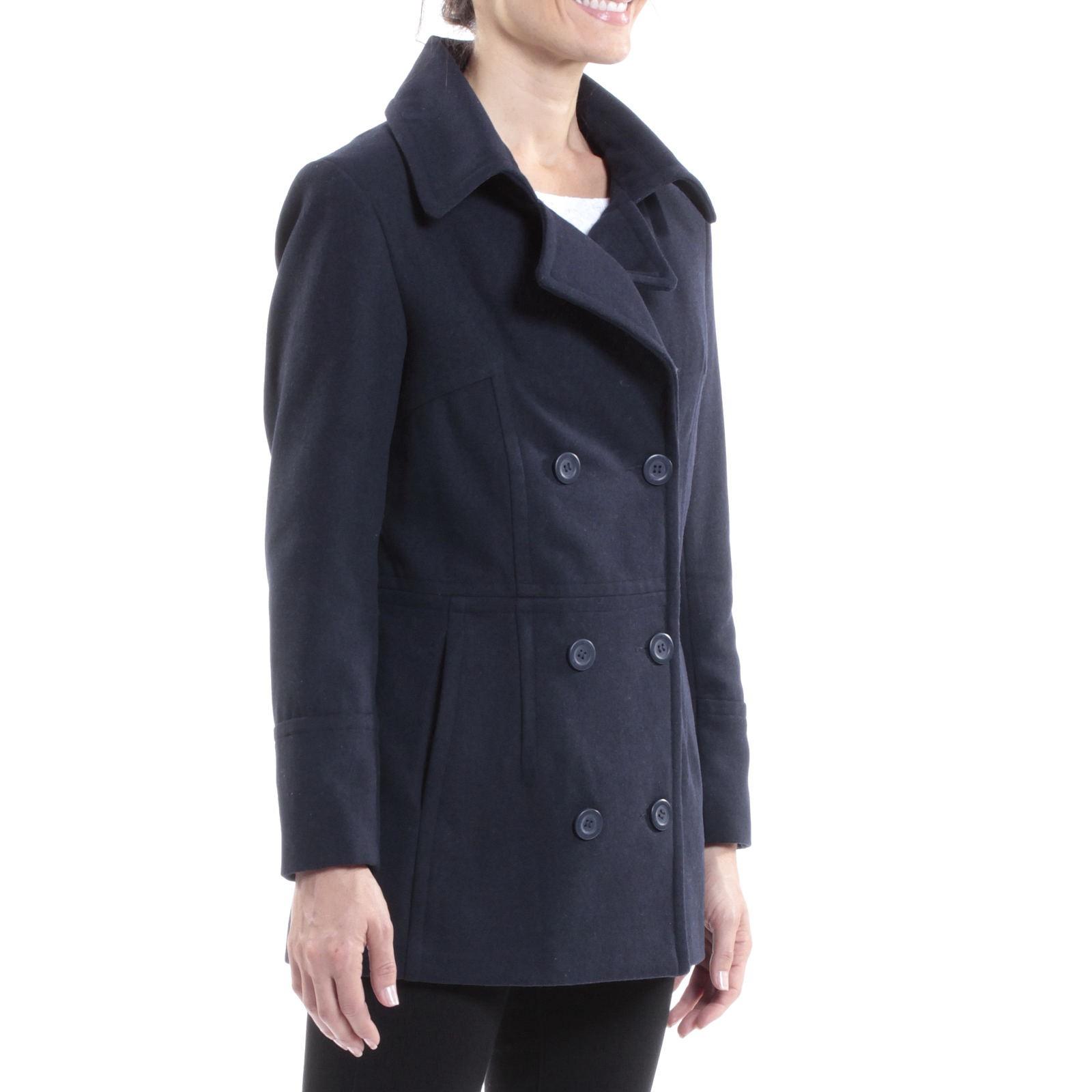 Alpine-Swiss-Emma-Womens-Peacoat-Jacket-Wool-Blazer-Double-Breasted-Overcoat-New thumbnail 49