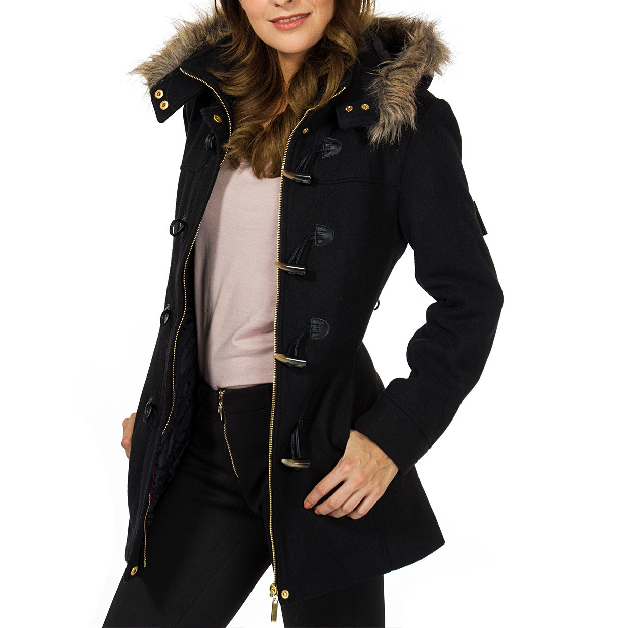 From girls' night out to opening night at the opera, Overland offers a wide selection of women's fur jackets, including 3/4-length fur coats, full-length fur jackets, reversible fur coats, and hooded fur jackets.