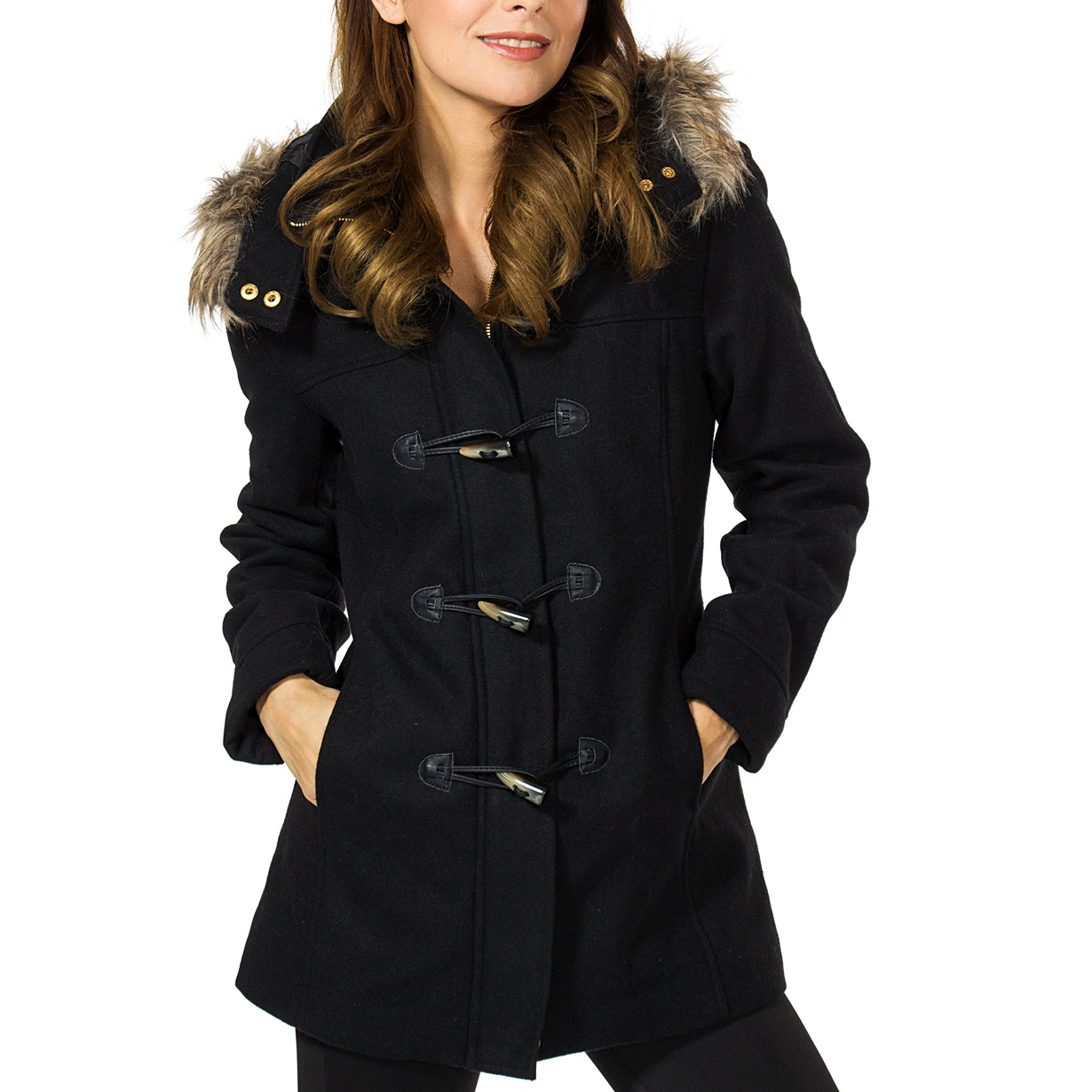 Alpine-Swiss-Duffy-Womens-Hooded-Parka-Fur-Trim-Wool-Coat-Toggle-Button-Jacket