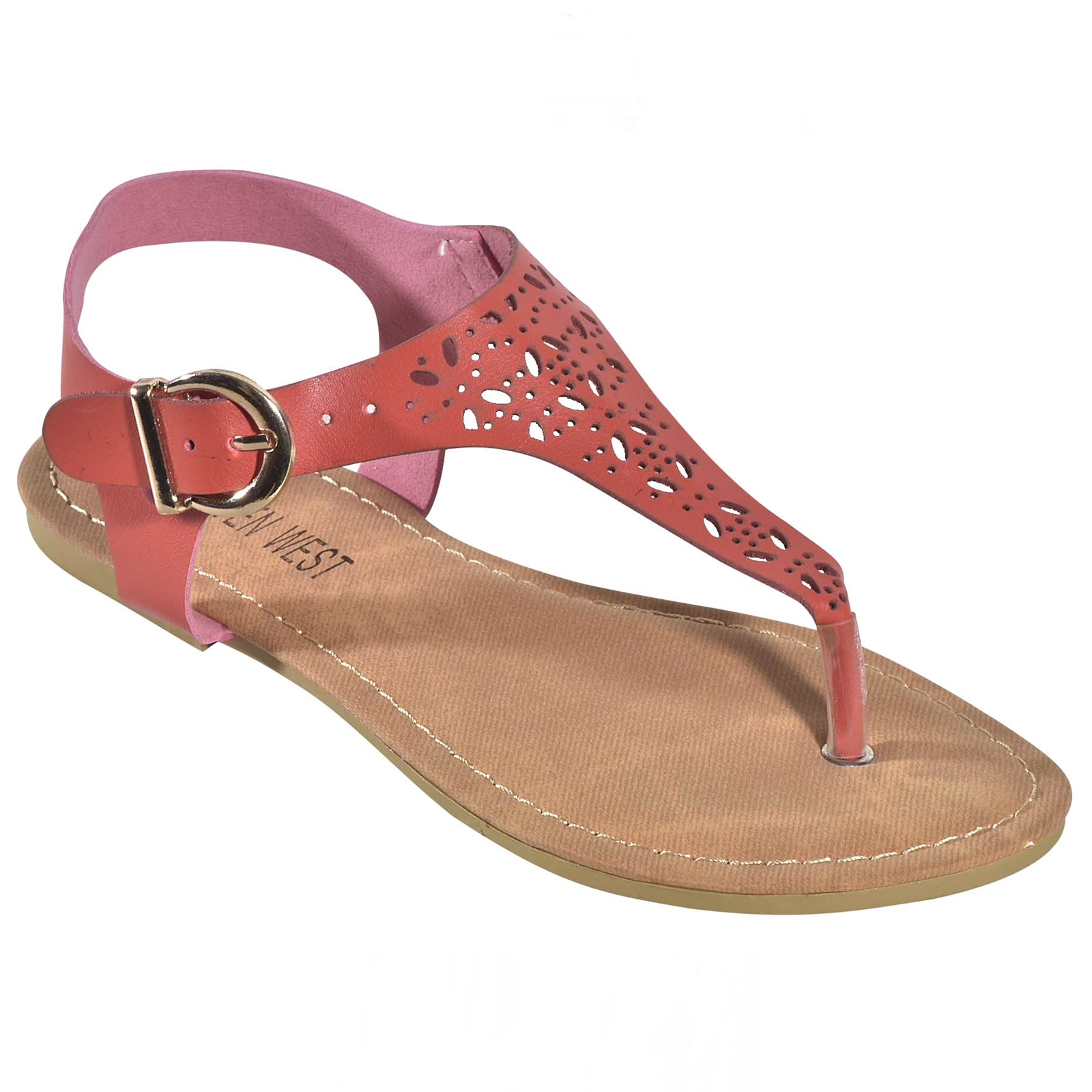 Womens Cutout TStrap Thongs Slingback Strappy Roman Gladiator Flat Sandals