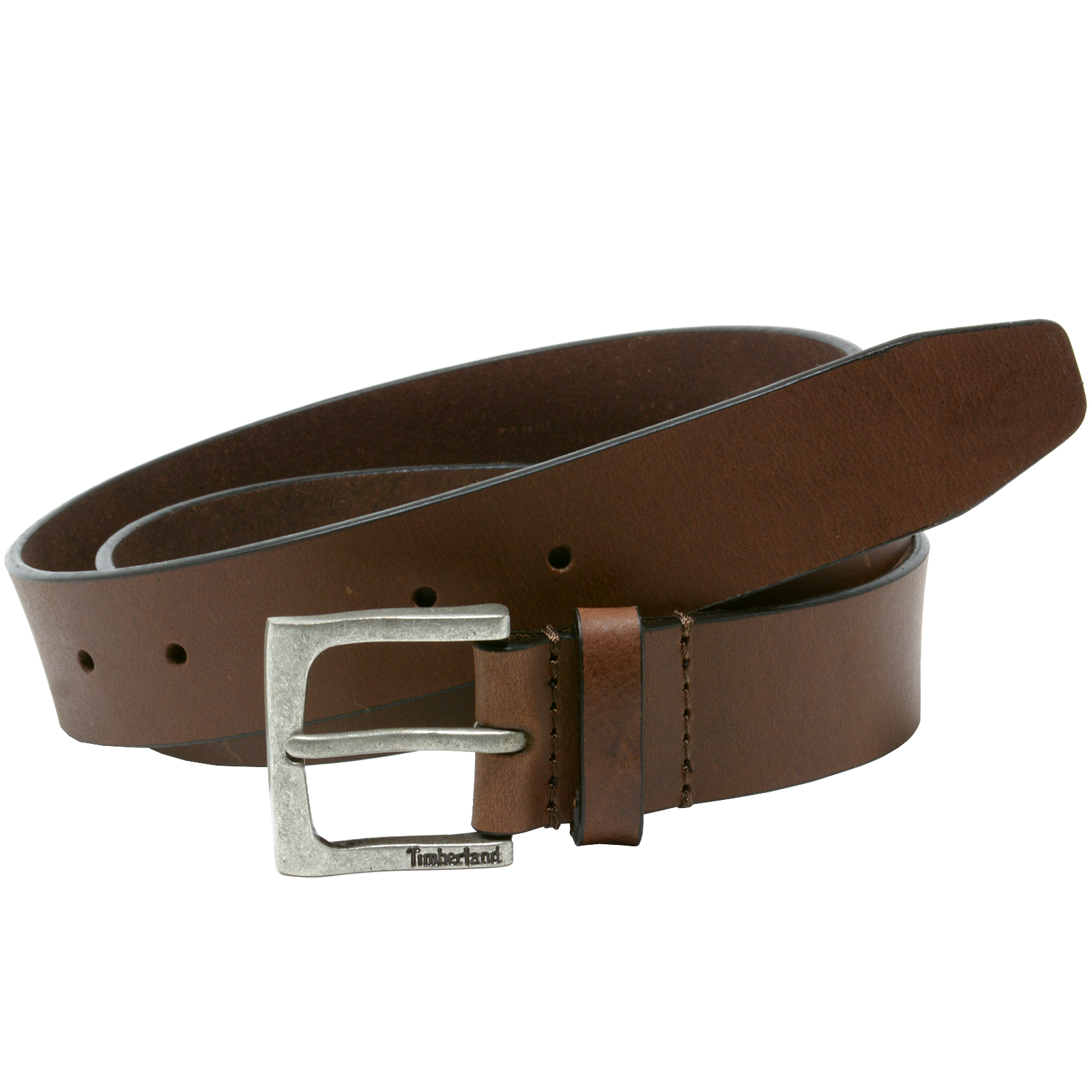 timberland mens 35mm casual belt genuine leather rugged