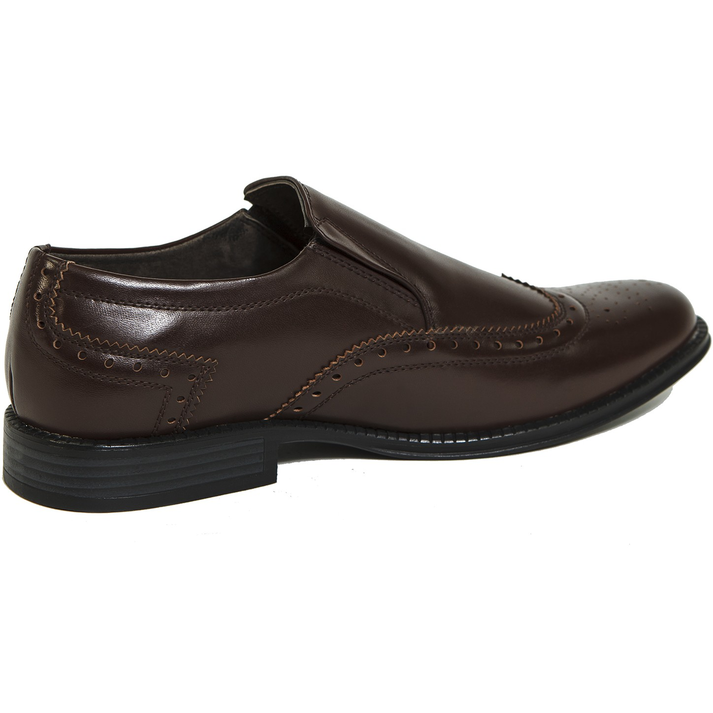 Alpine-Swiss-Basel-Mens-Wing-Tip-Dress-Shoes-Brogue-Medallion-Slip-On-Loafers thumbnail 18